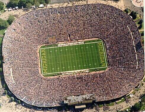 Ranking The Top 10 Biggest College Football Stadiums Bleacher