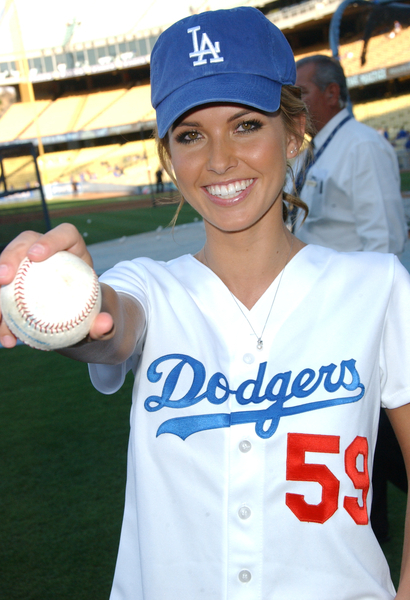 0f258759 Patridge, specializing in the melodrama, visited Dodger Stadium to throw  out a first pitch, most likely secretly scripted.