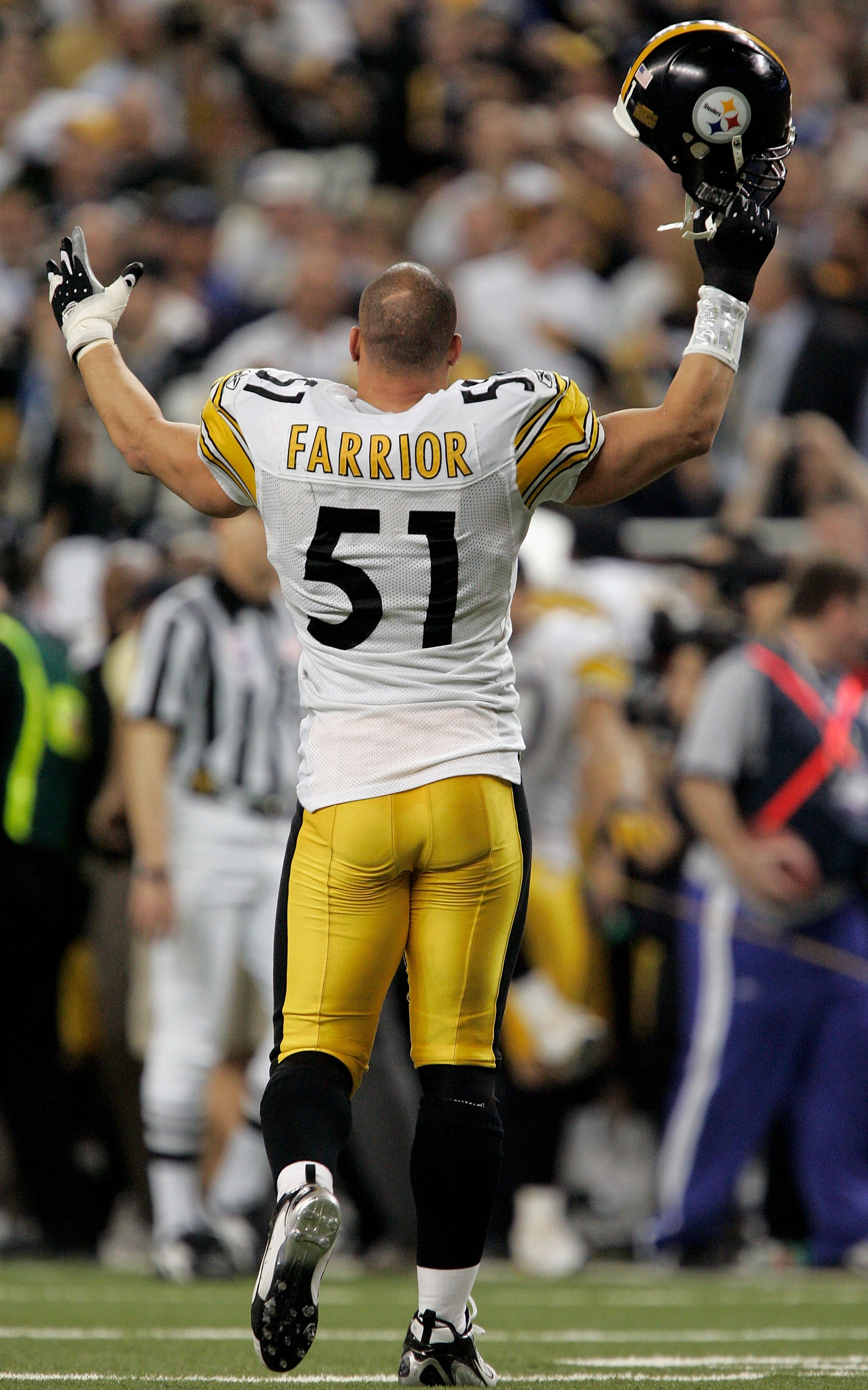 a58072249 James Farrior is arguably the best veteran free agent signing in Steelers  history. Viewed as somewhat of a bust by the NY Jets