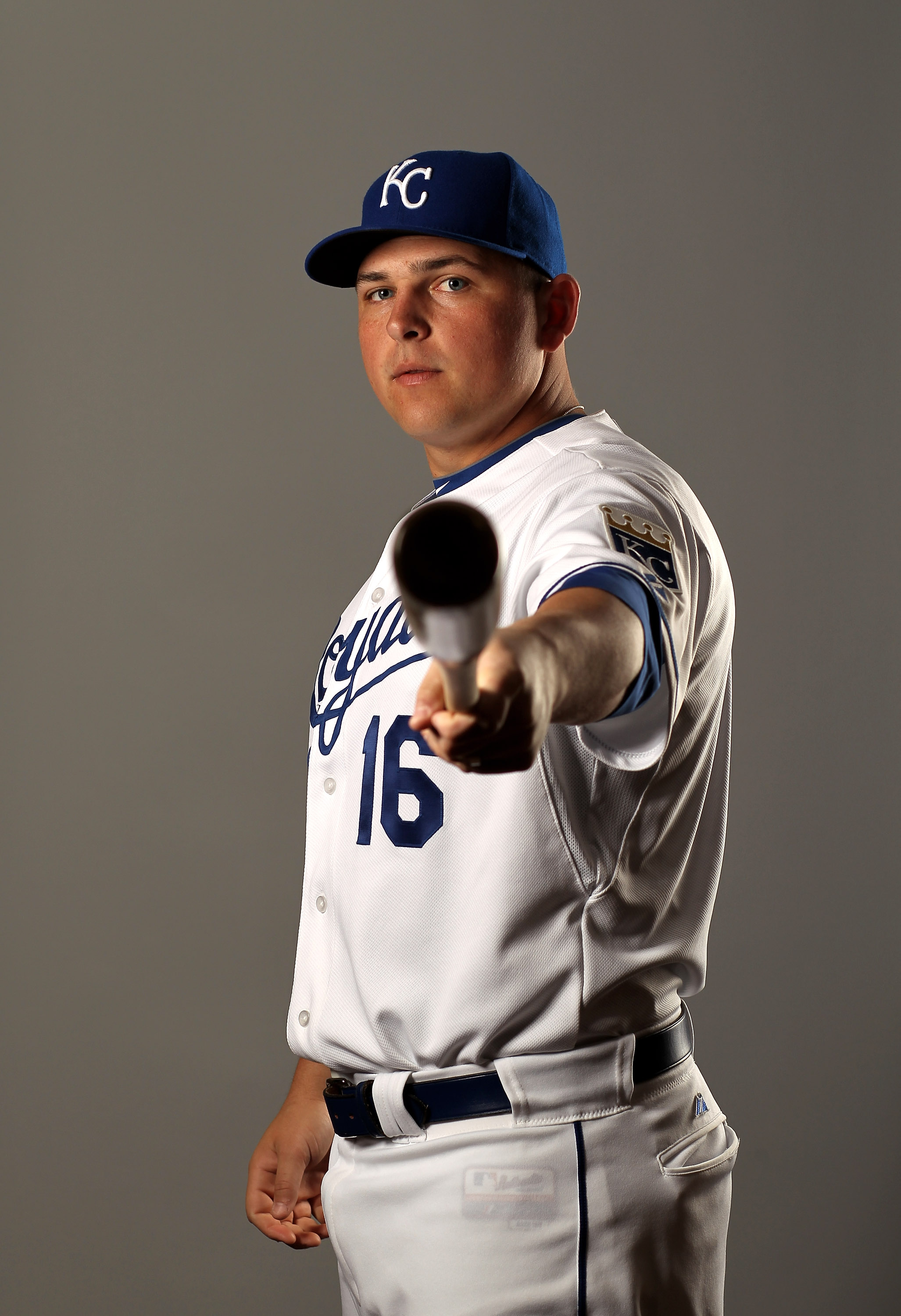 SURPRISE, AZ - FEBRUARY 26:  Billy Butler of the Kansas City Royals poses during photo media day at the Royals spring training complex on February 26, 2010 in Surprise, Arizona.  (Photo by Ezra Shaw/Getty Images)