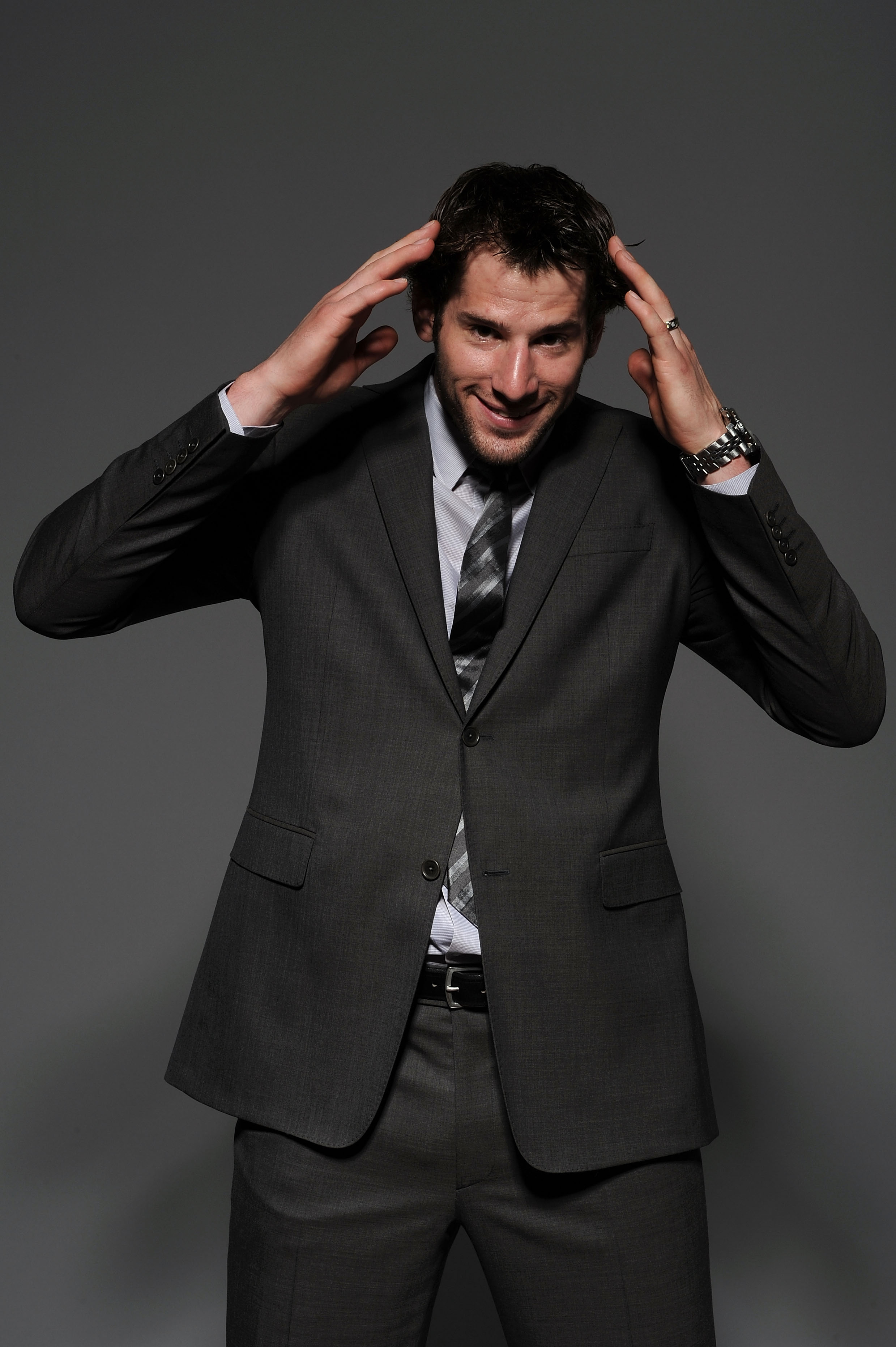 LAS VEGAS - JUNE 23:  Ryan Kesler of the Vancouver Canucks poses for a portrait during the 2010 NHL Awards at the Palms Casino Resort on June 23, 2010 in Las Vegas, Nevada.  (Photo by Harry How/Getty Images)