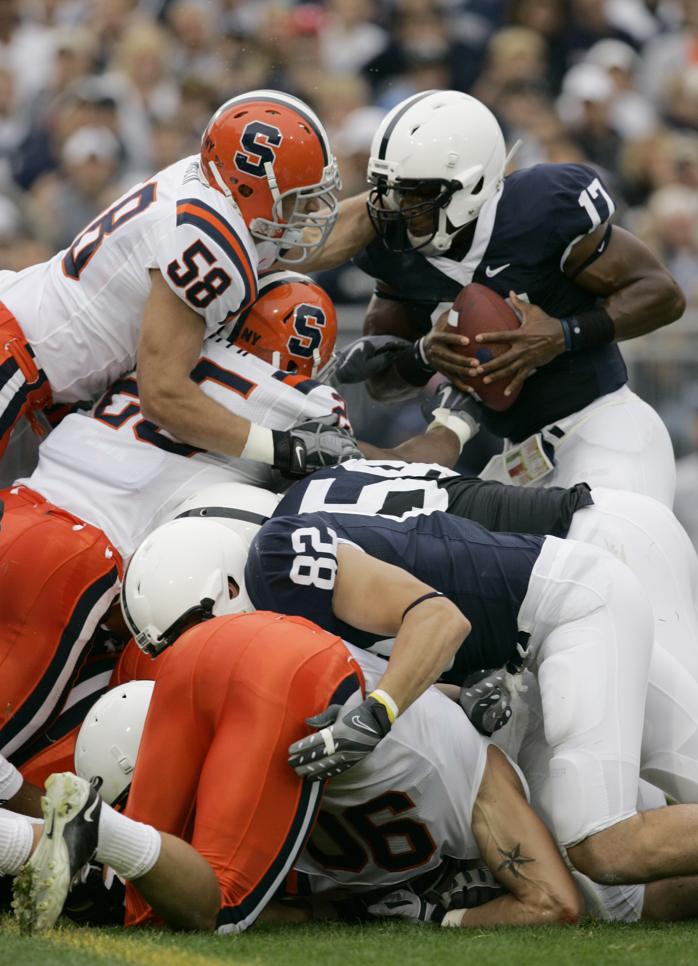 Syracuse Stops The Nittany Lion Ground Game In 2009