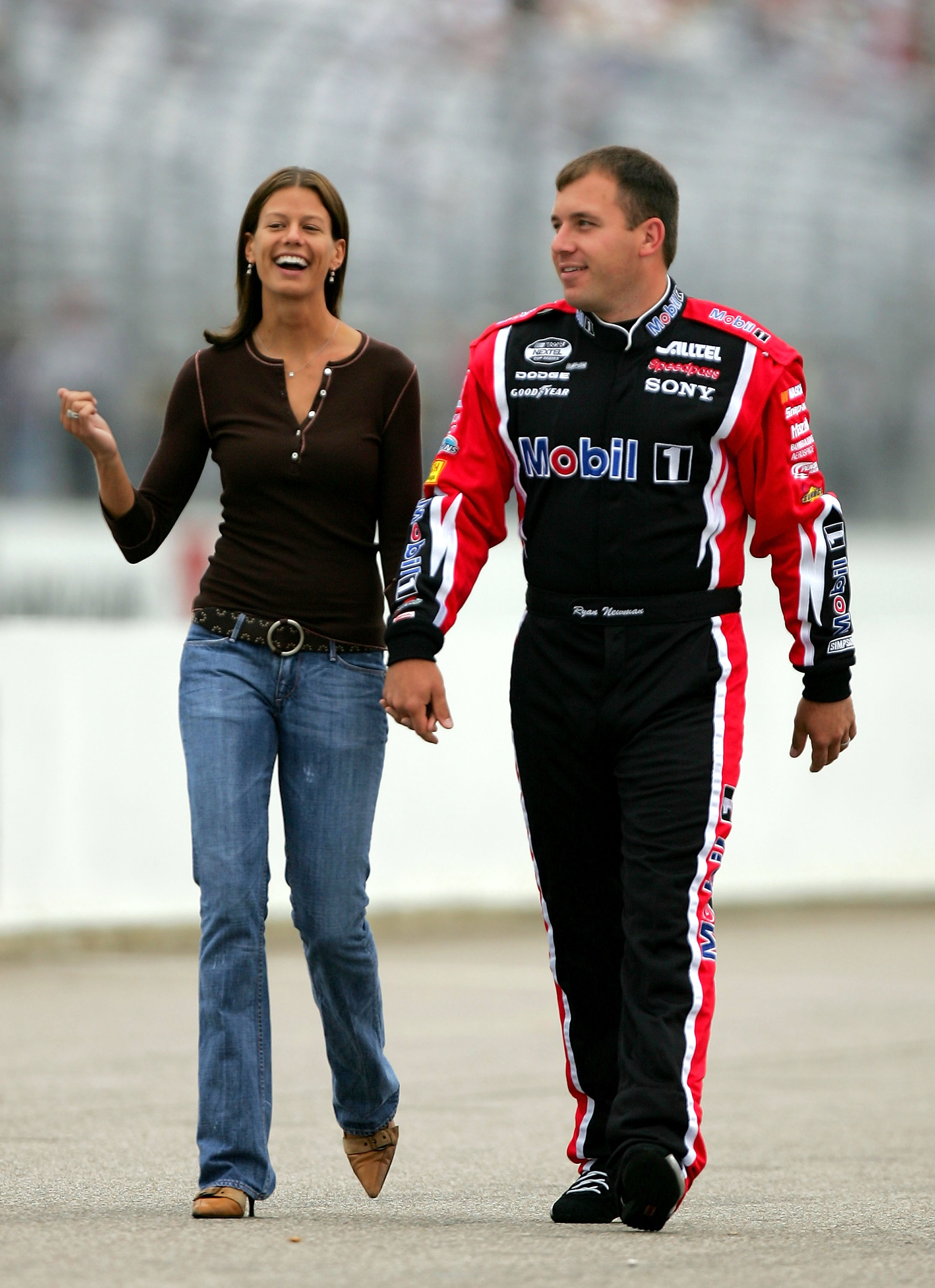 Behind The Scenes With The First Lady Of Nascar Krissie Newman Bleacher Report Latest News Videos And Highlights