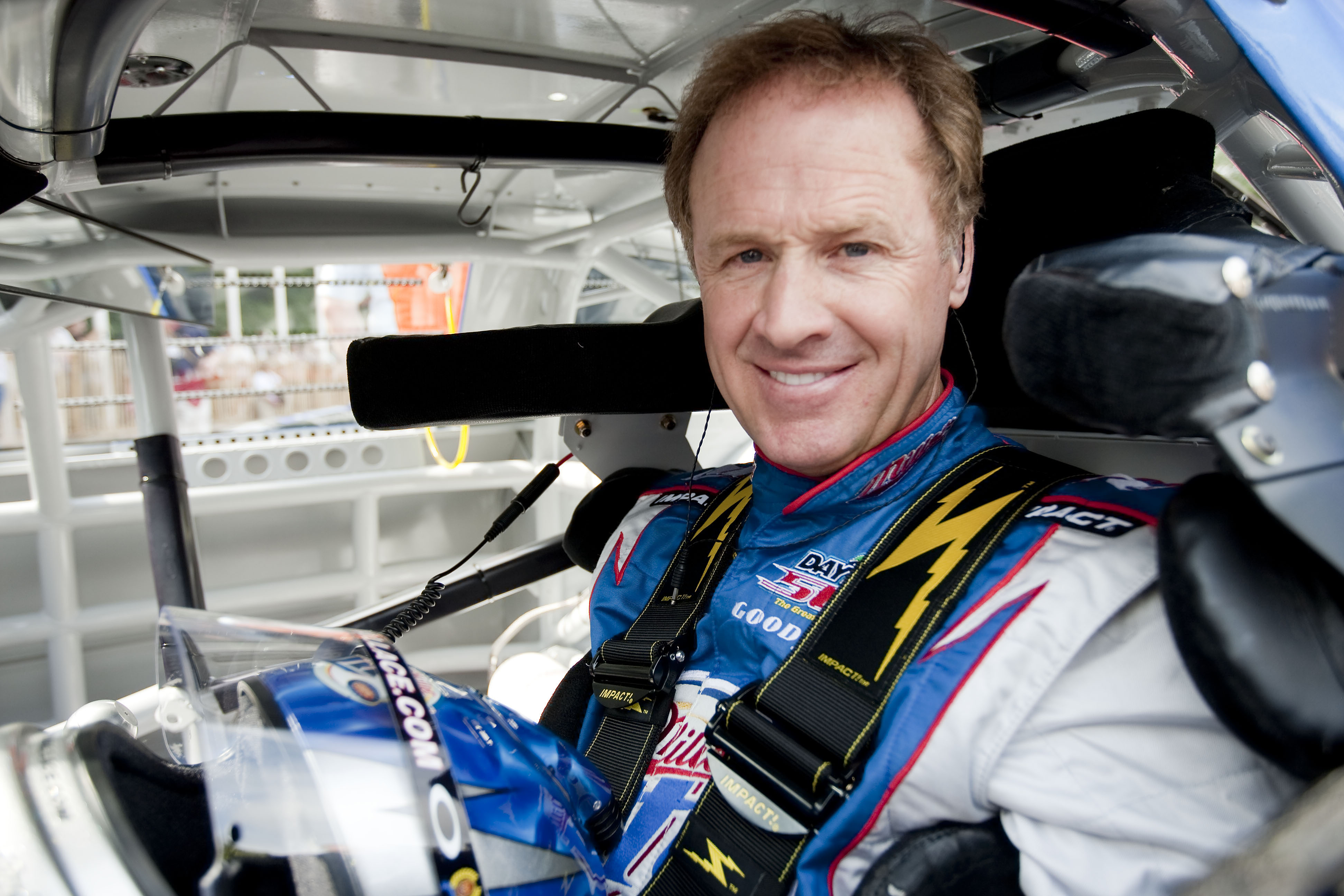 CHICHESTER, ENGLAND - JULY 3:  Rusty Wallace of USA during day one of The Goodwood Festival of Speed at The Goodwood Estate on July 3, 2009 in Chichester, England. (Photo by Peter Fox/Getty Images for NASCAR)