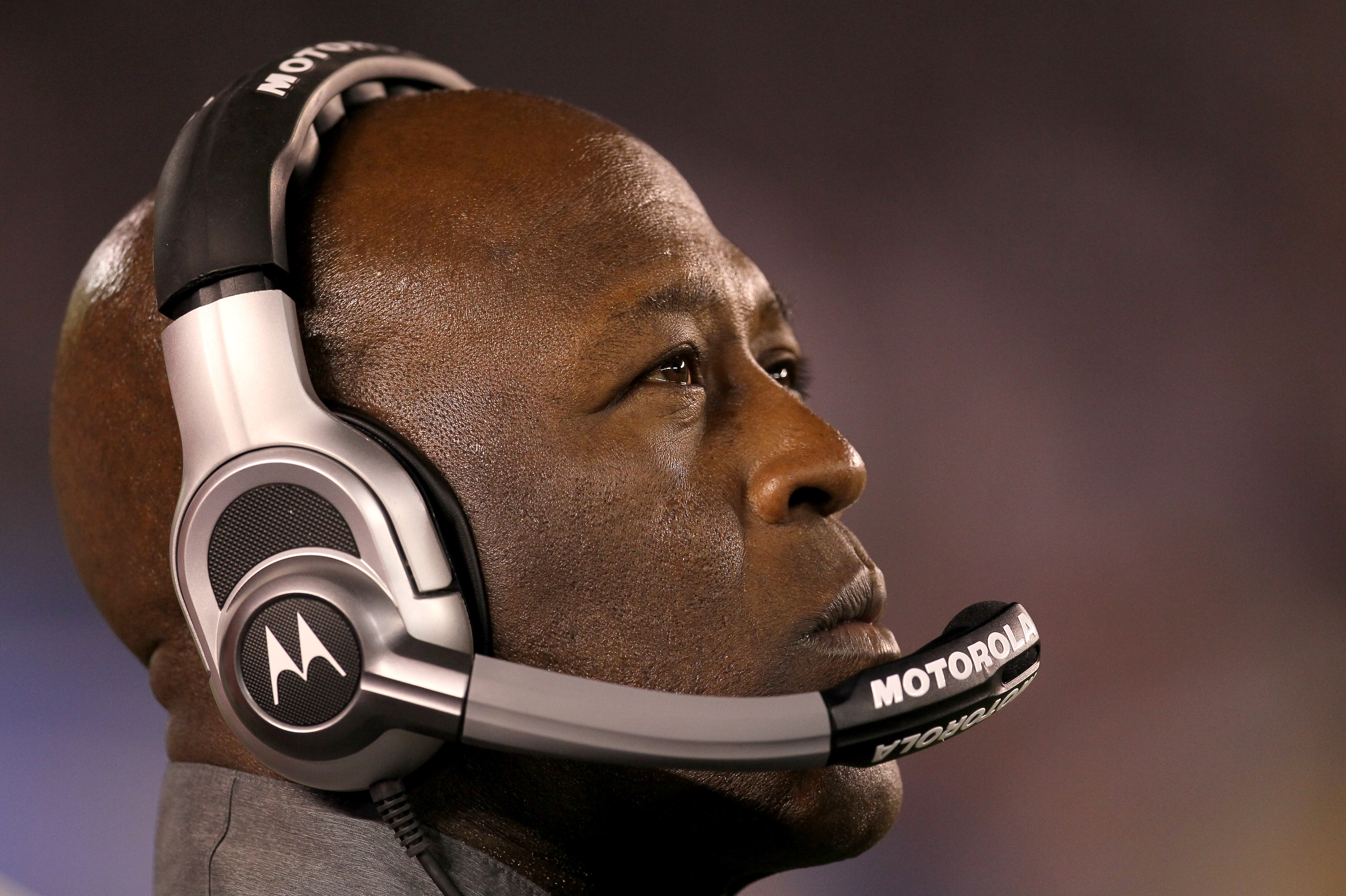 SAN DIEGO - AUGUST 14:  Head coach Lovie Smith of the Chicago Bears looks on during the game with the San Diego Chargers on August 14, 2010 at Qualcomm Stadium in San Diego, California.  The Chargers won 25-10.  (Photo by Stephen Dunn/Getty Images)