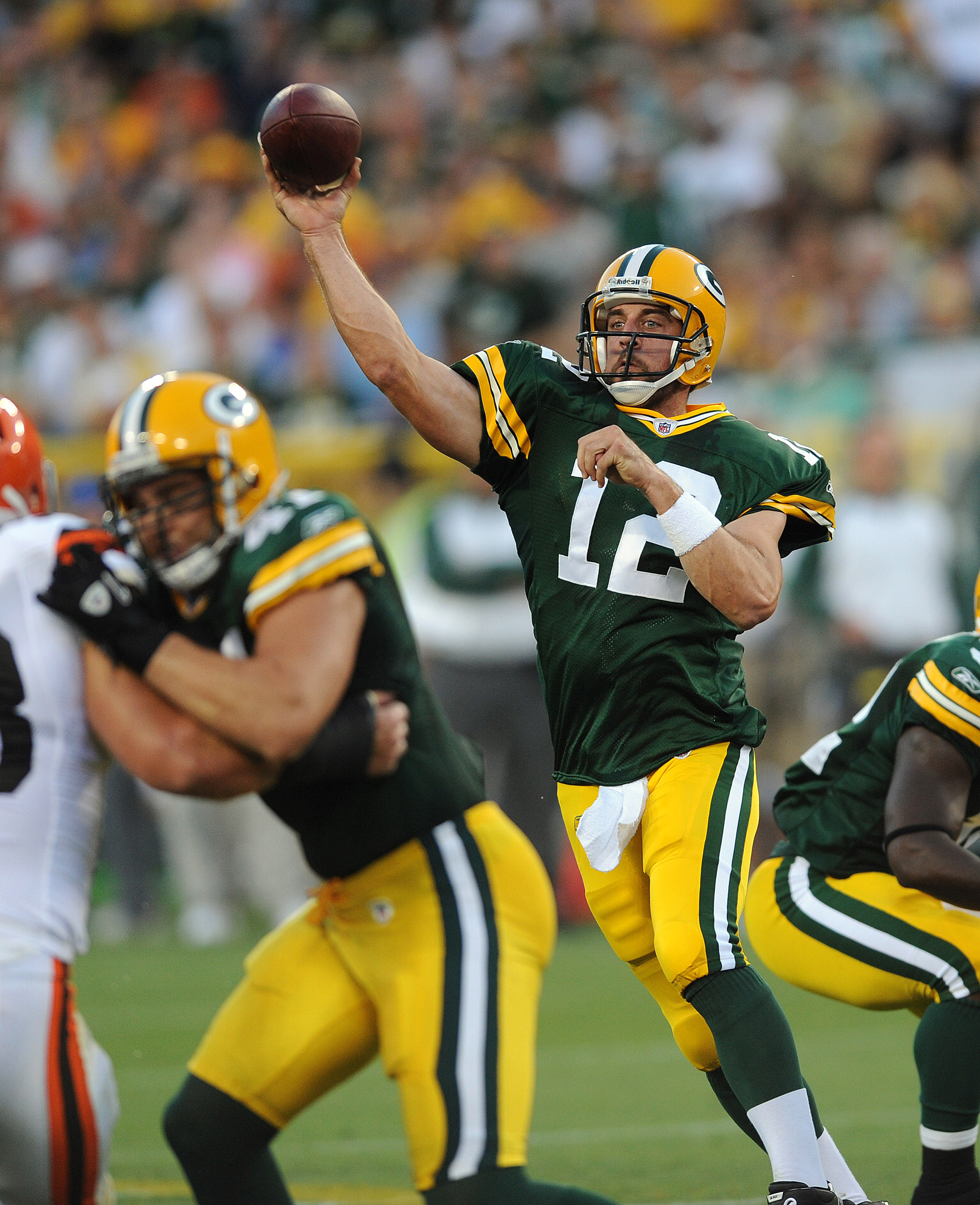 Mr. Rodgers is still second Fiddle to the man in the Wranglers