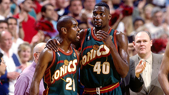85b649d5e1c The 1990 s were a strange time for NBA jerseys. Many teams had truly awful  designs that were far from anything but classy and featured a mess of  designs on ...