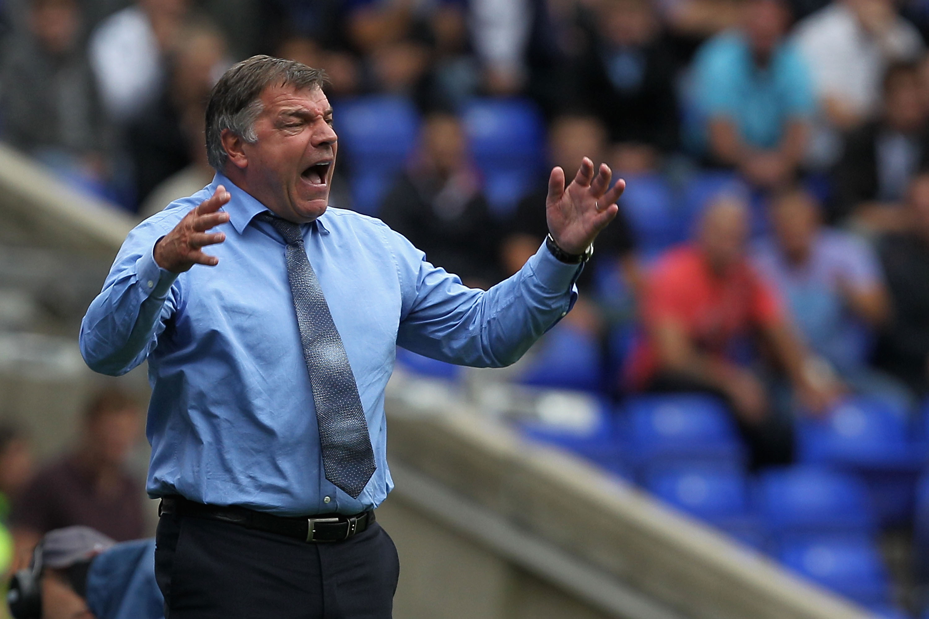 Angry Allardyce Screams as Rovers Fall to the Blues