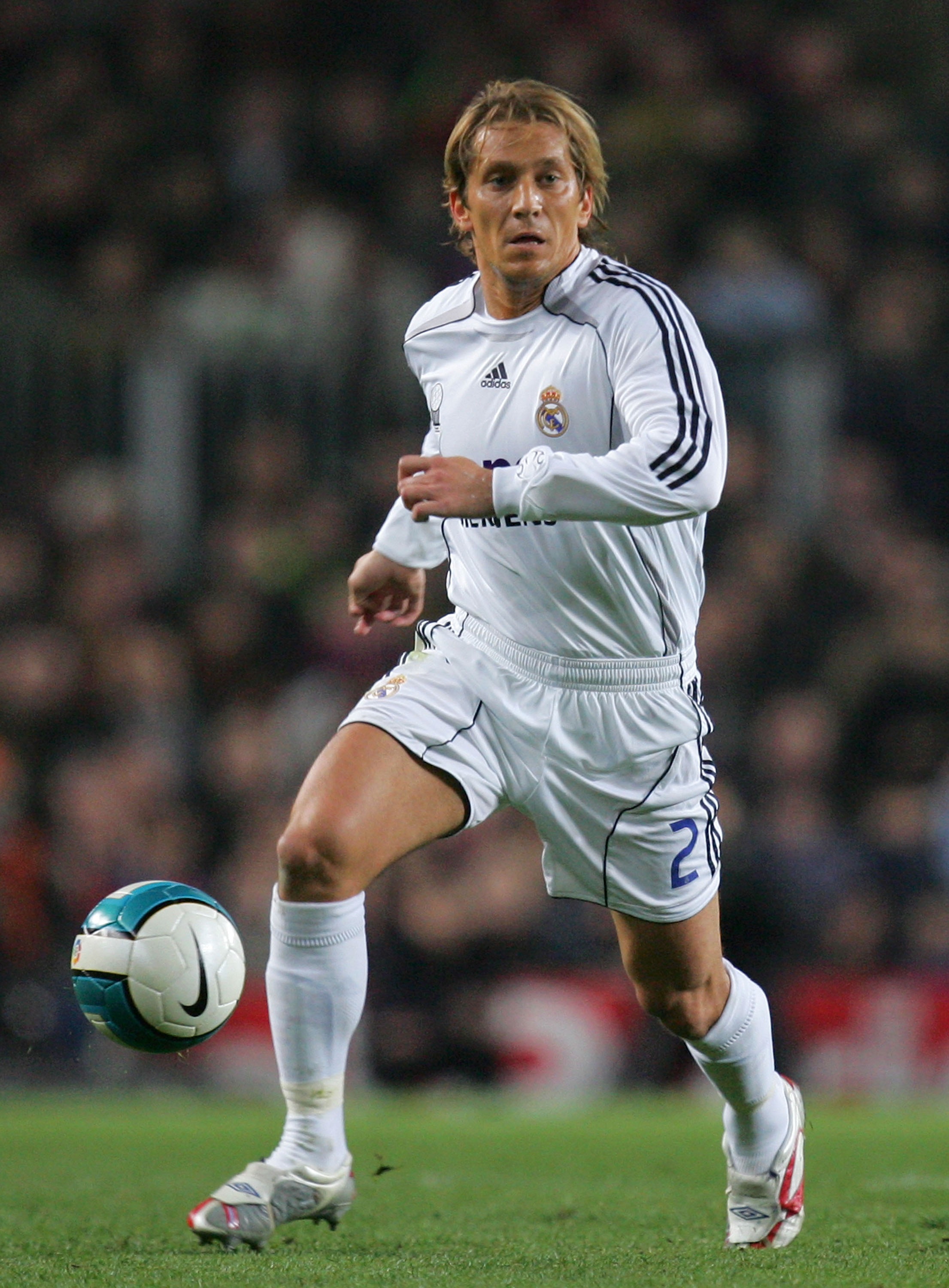 76455bfb380 Michel Salgado began his professional career with hometown s Celta Vigo