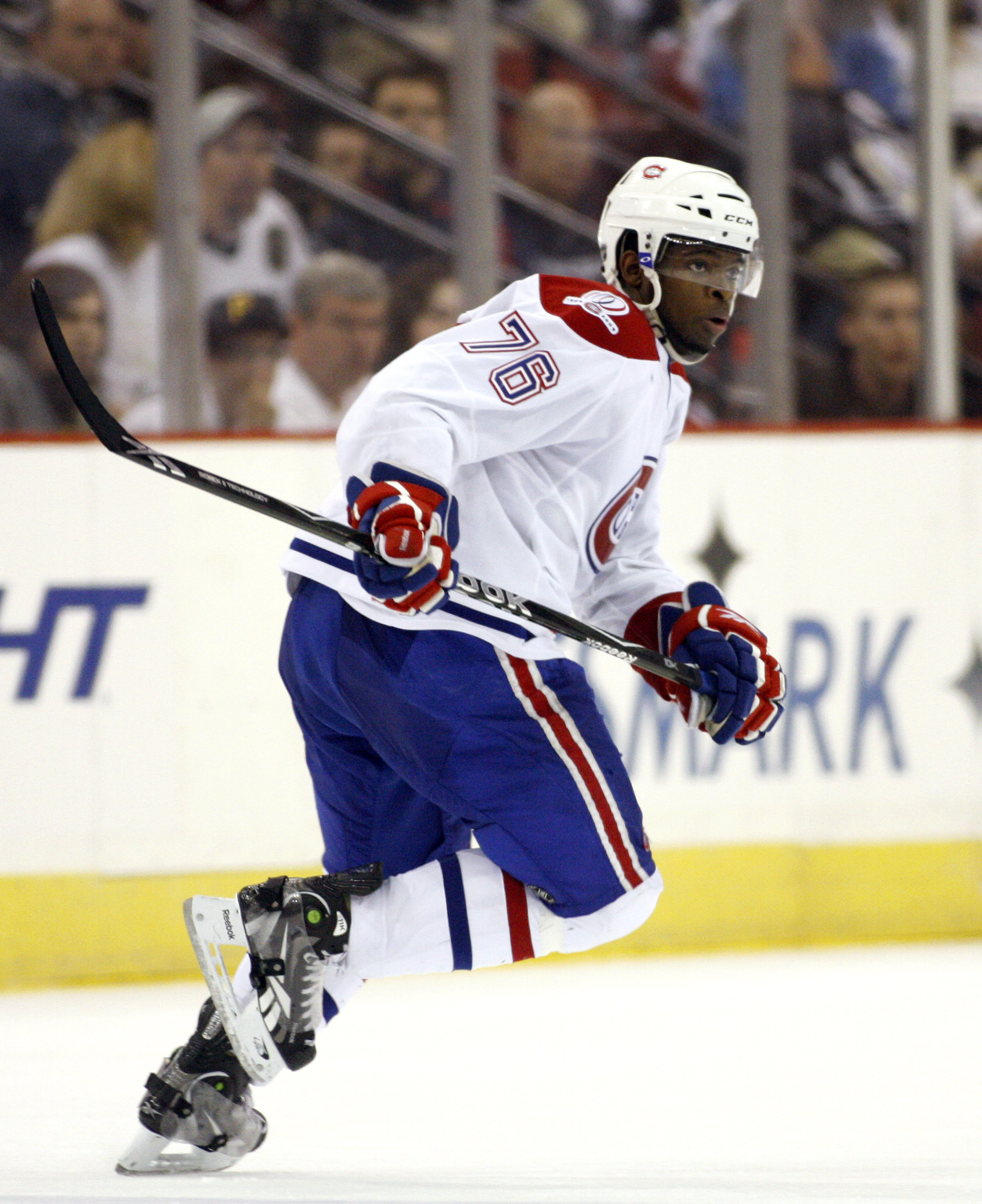 PITTSBURGH - MAY 8  PK Subban  76 of the Montreal Canadiens skates against  the a836dac50