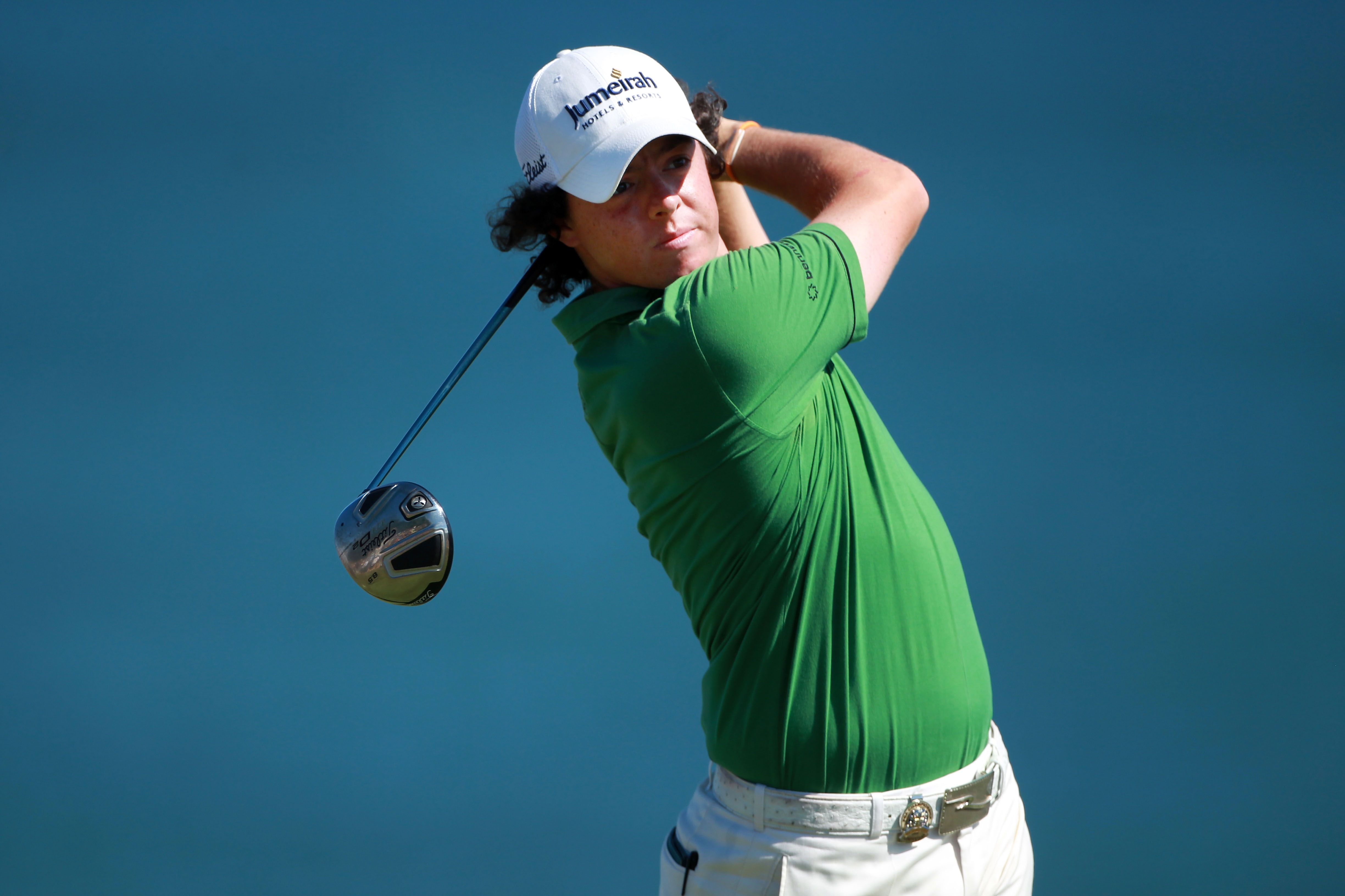 KOHLER, WI - AUGUST 15:  Rory McIlroy of Northern Ireland plays his tee shot on the ninth hole during the final round of the 92nd PGA Championship on the Straits Course at Whistling Straits on August 15, 2010 in Kohler, Wisconsin.  (Photo by Andrew Reding