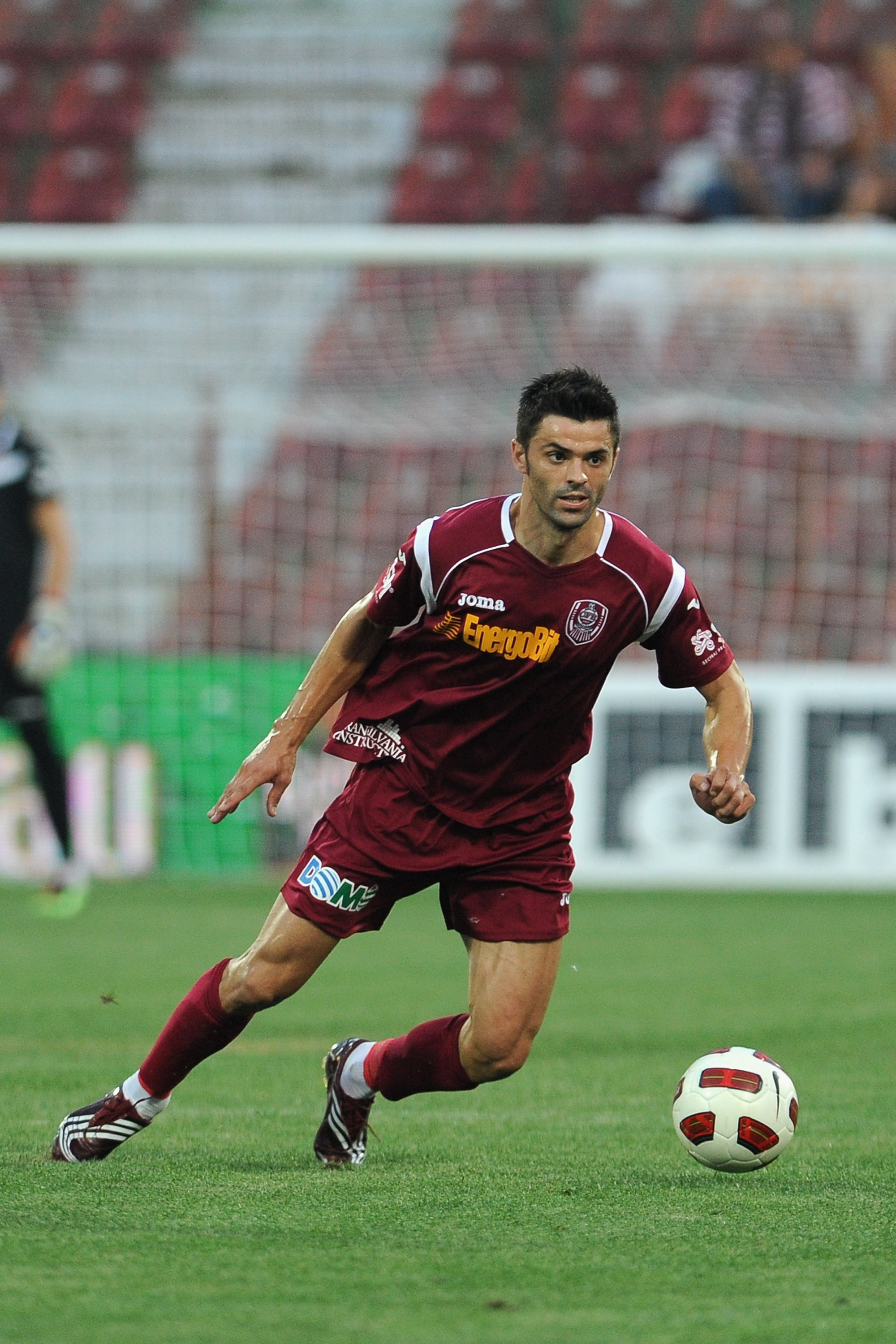 CLUJ-NAPOCA, ROMANIA - AUGUST 13:  Dani of CFR 1907 Cluj in action during the Liga 1 match between CFR 1907 Cluj and Astra Ploiesti at Constantin Radulescu Stadium on August 13, 2010 in Cluj-Napoca, Romania.  (Photo by Valerio Pennicino/Getty Images)