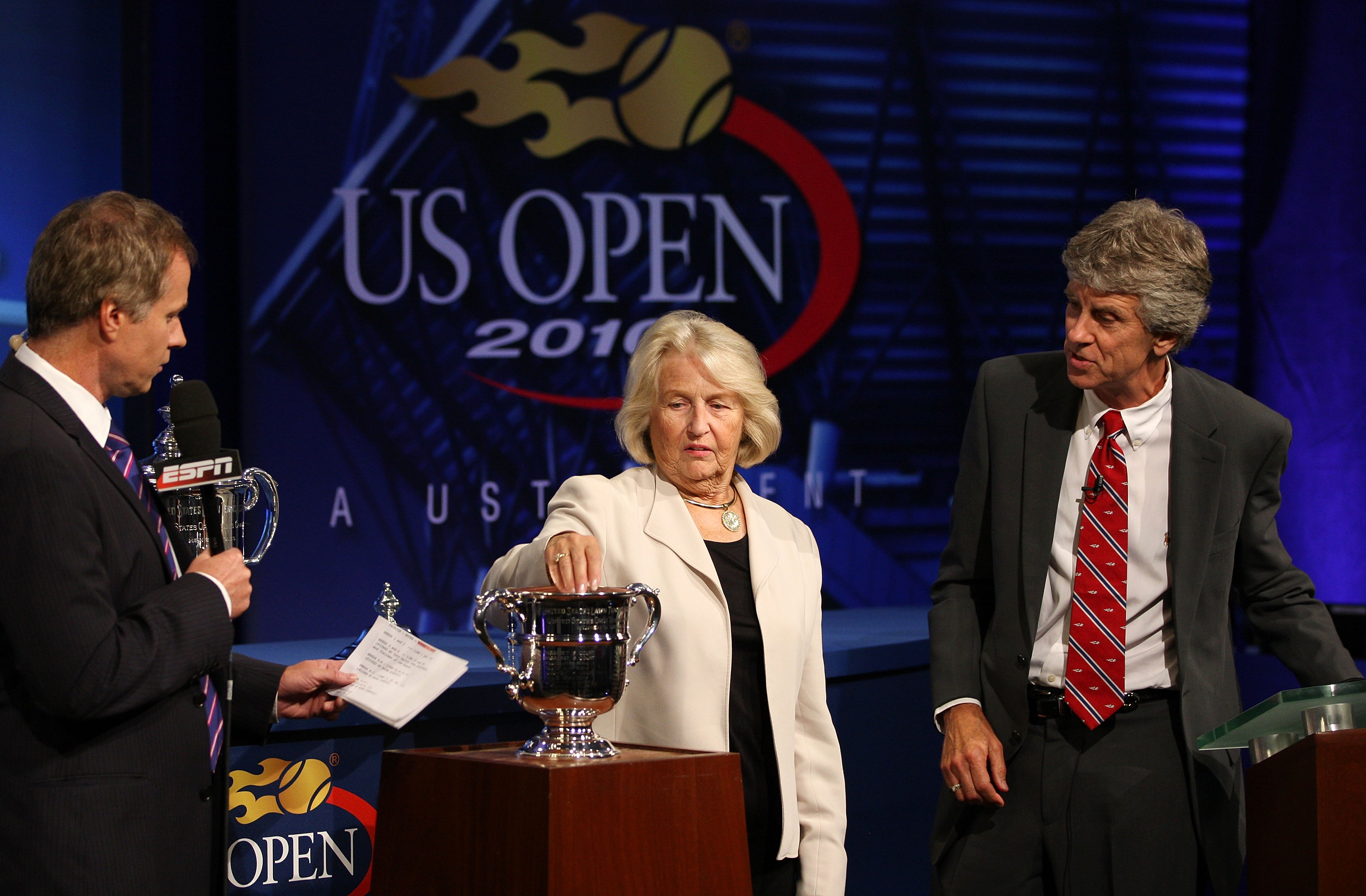 The U.S. Open draw was created on Thursday.
