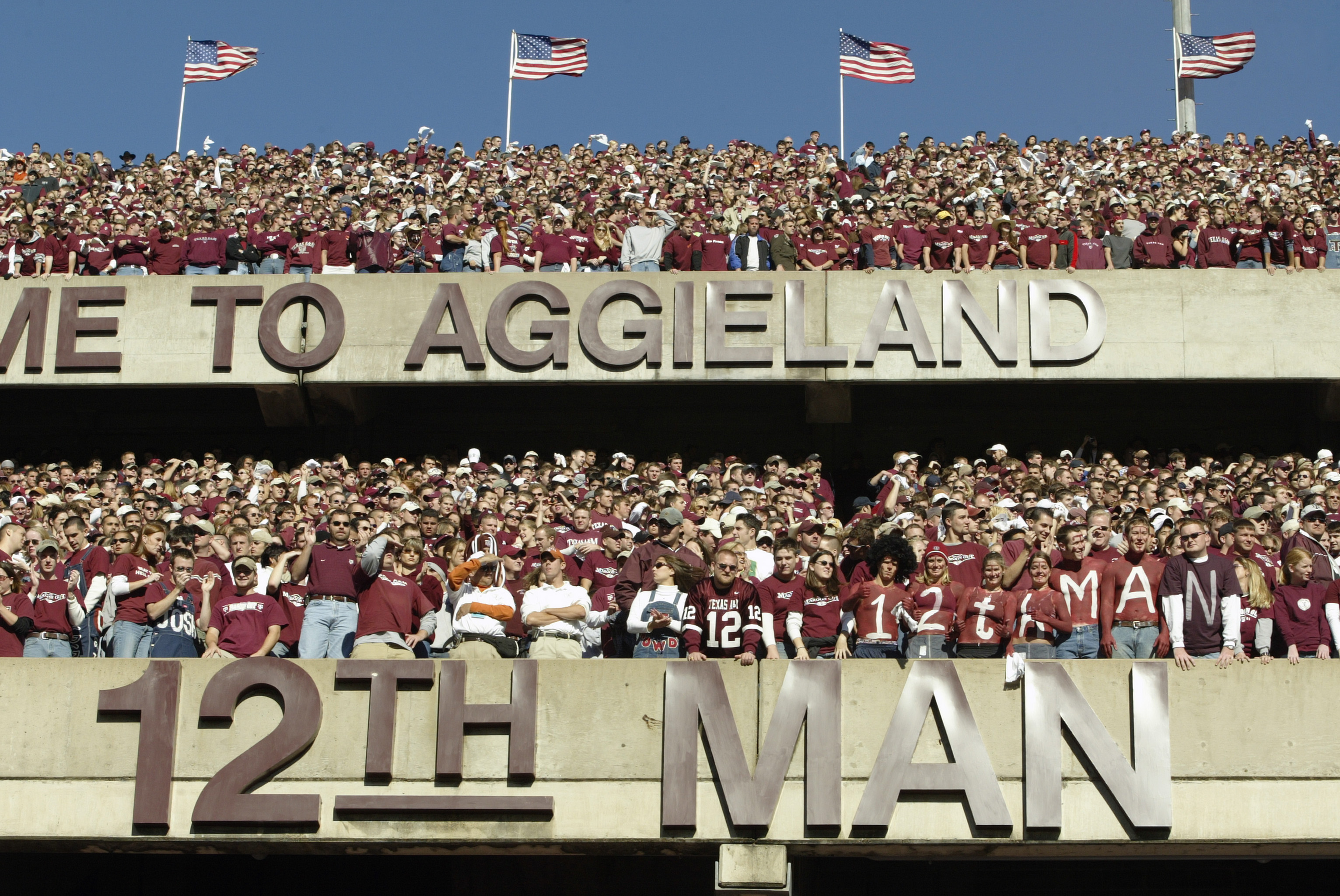 Texas A&M: Home of the 12th Man