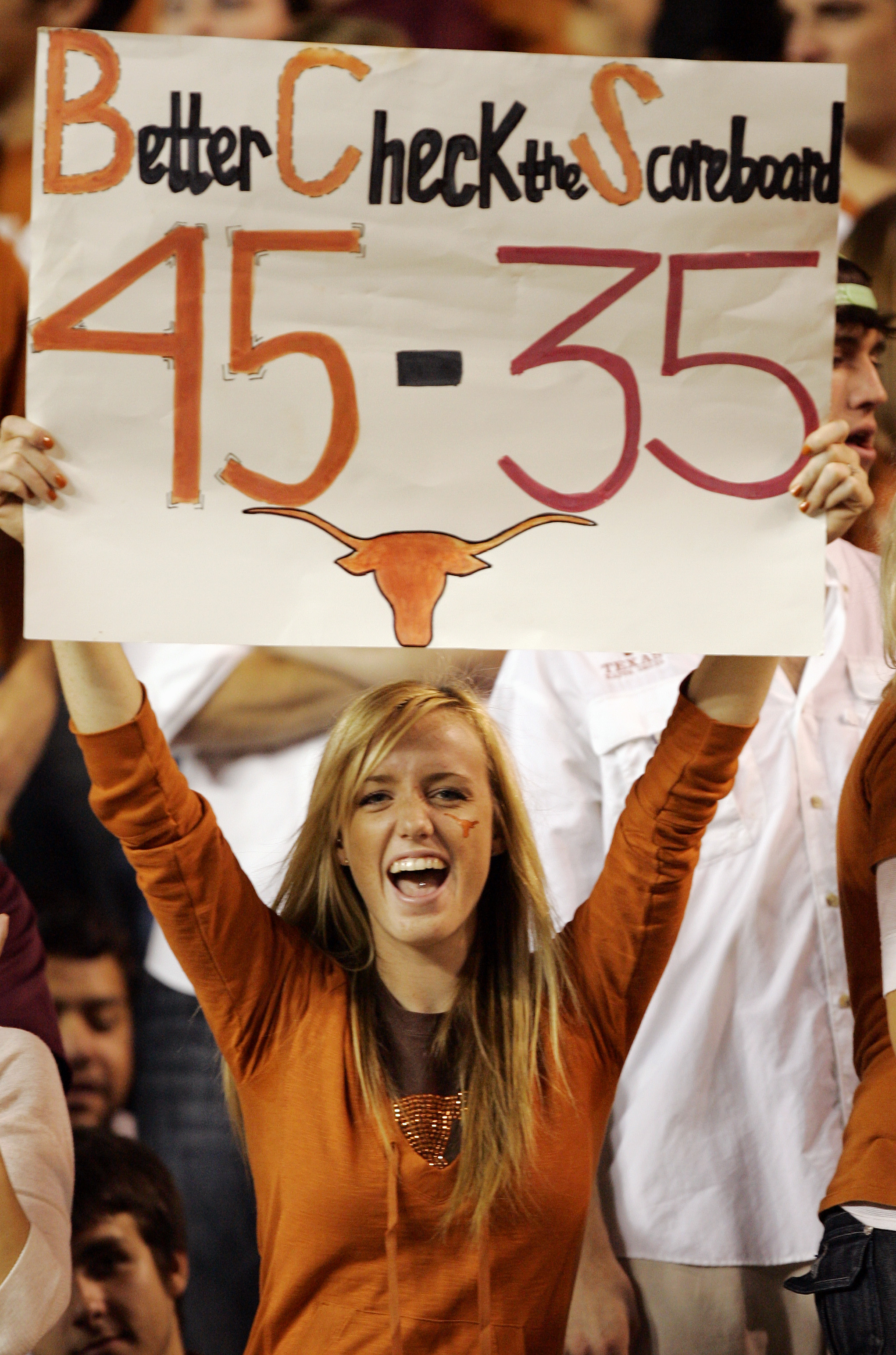Nothing Texas did could remind the BCS enough about their 45-35 victory over Oklahoma in 2008.  The Sooners jumped Texas to go to the national championship game.