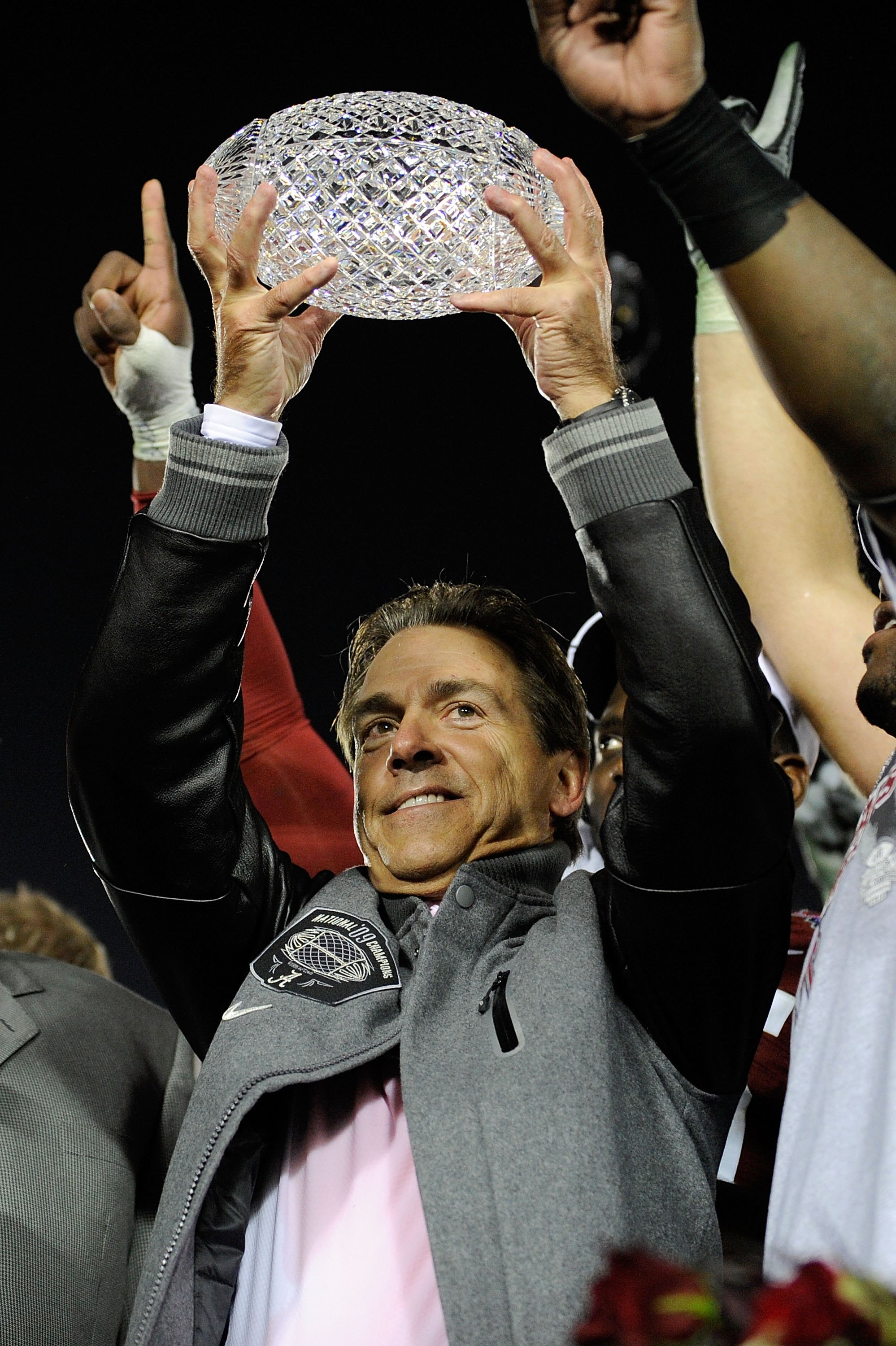 Alabama head coach, Nick Saban