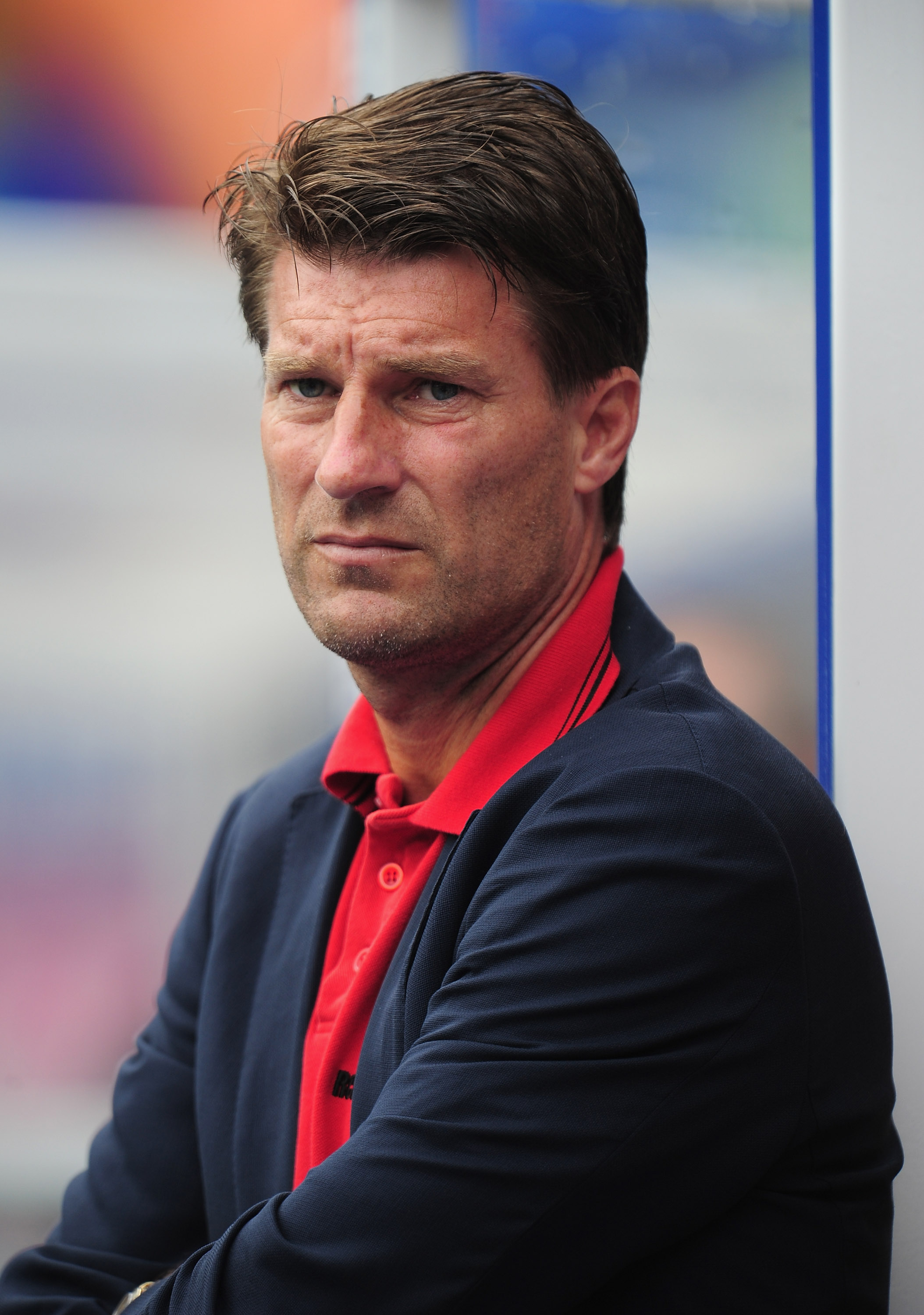 BIRMINGHAM, ENGLAND - AUGUST 07:  Michael Laudrup the Real Mallorca coach during the friendly match between Birmingham City and Real Mallorca at St. Andrew's Stadium on August 7, 2010 in Birmingham, England.  (Photo by Shaun Botterill/Getty Images)