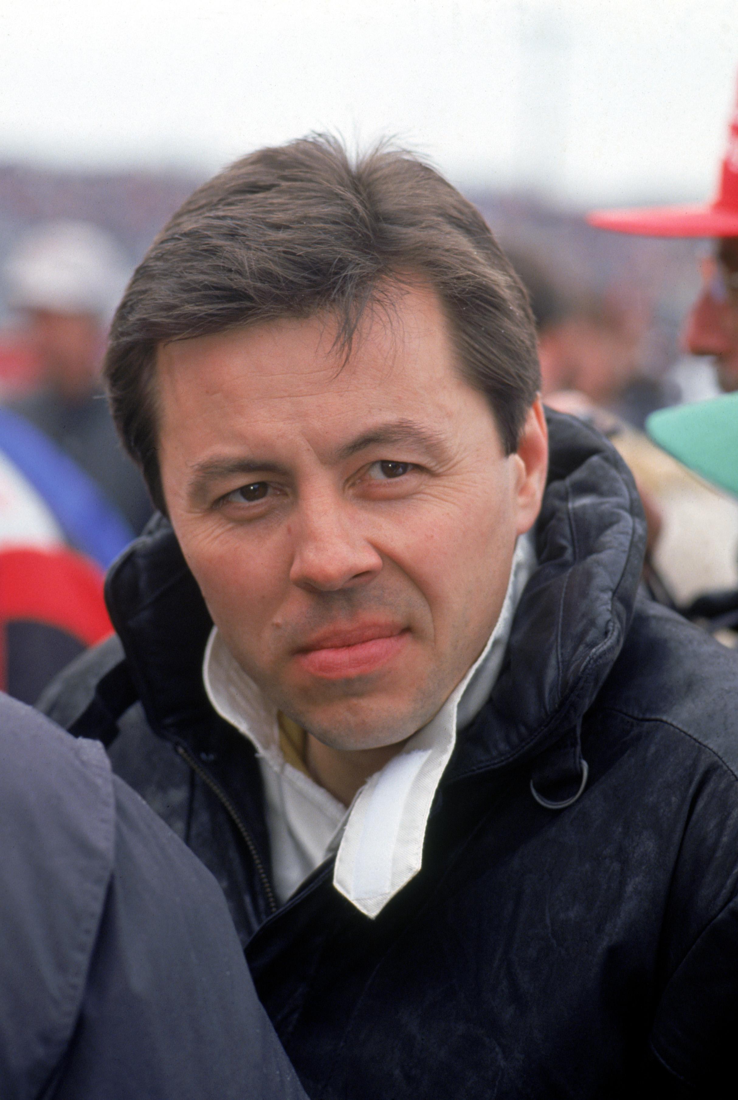 DAYTONA - FEBRUARY: Driver Alan Kulwicki looks on before the 1991 Daytona 500 at Daytona International Speedway on February,1991 in Daytona. Florida. ( Photo by: Getty Images/Getty Images)