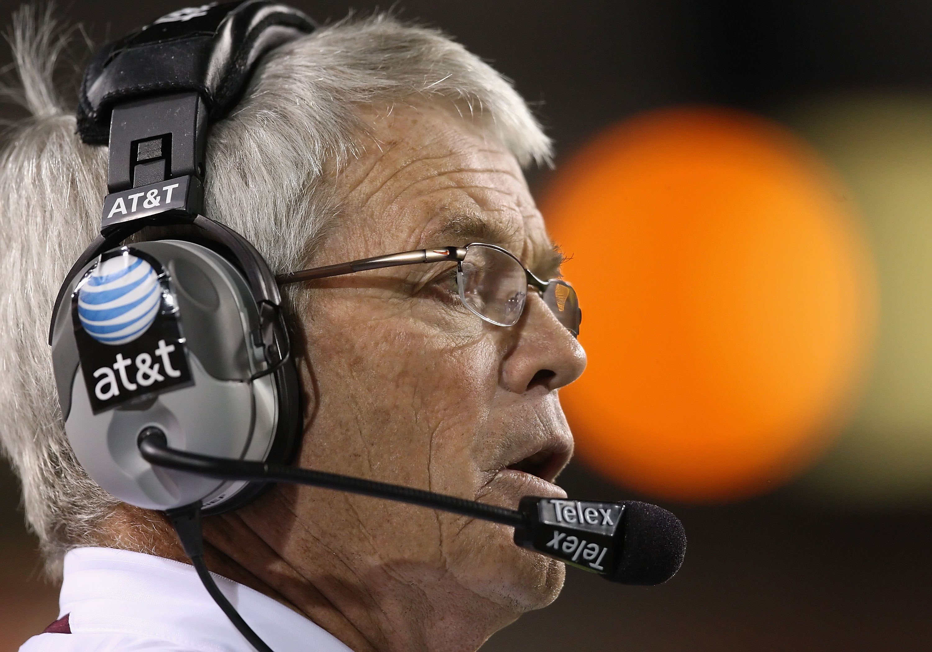 TEMPE, AZ - NOVEMBER 07:  Head coach Dennis Erickson of the Arizona State Sun Devils watches from the sidelines during the college football game against the USC Trojans at Sun Devil Stadium on November 7, 2009 in Tempe, Arizona. The Trojans defeated the D