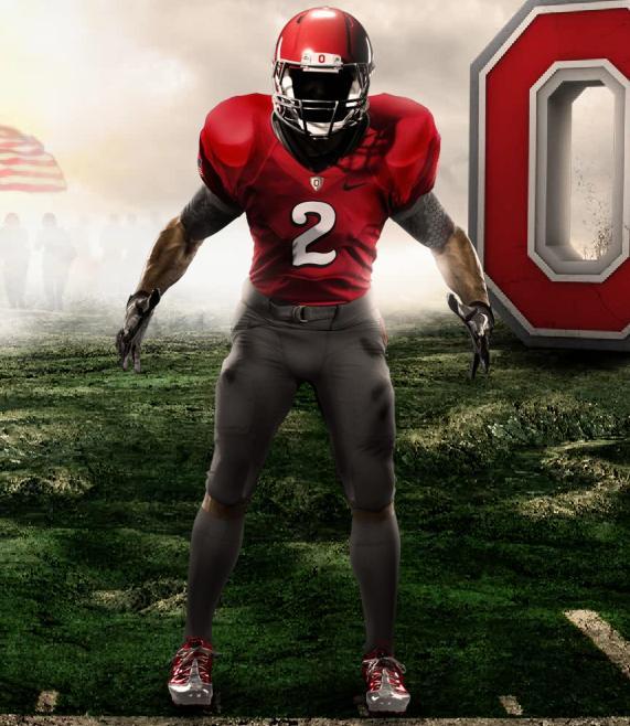 Nike Pro Combat College Football Jerseys Unveiled
