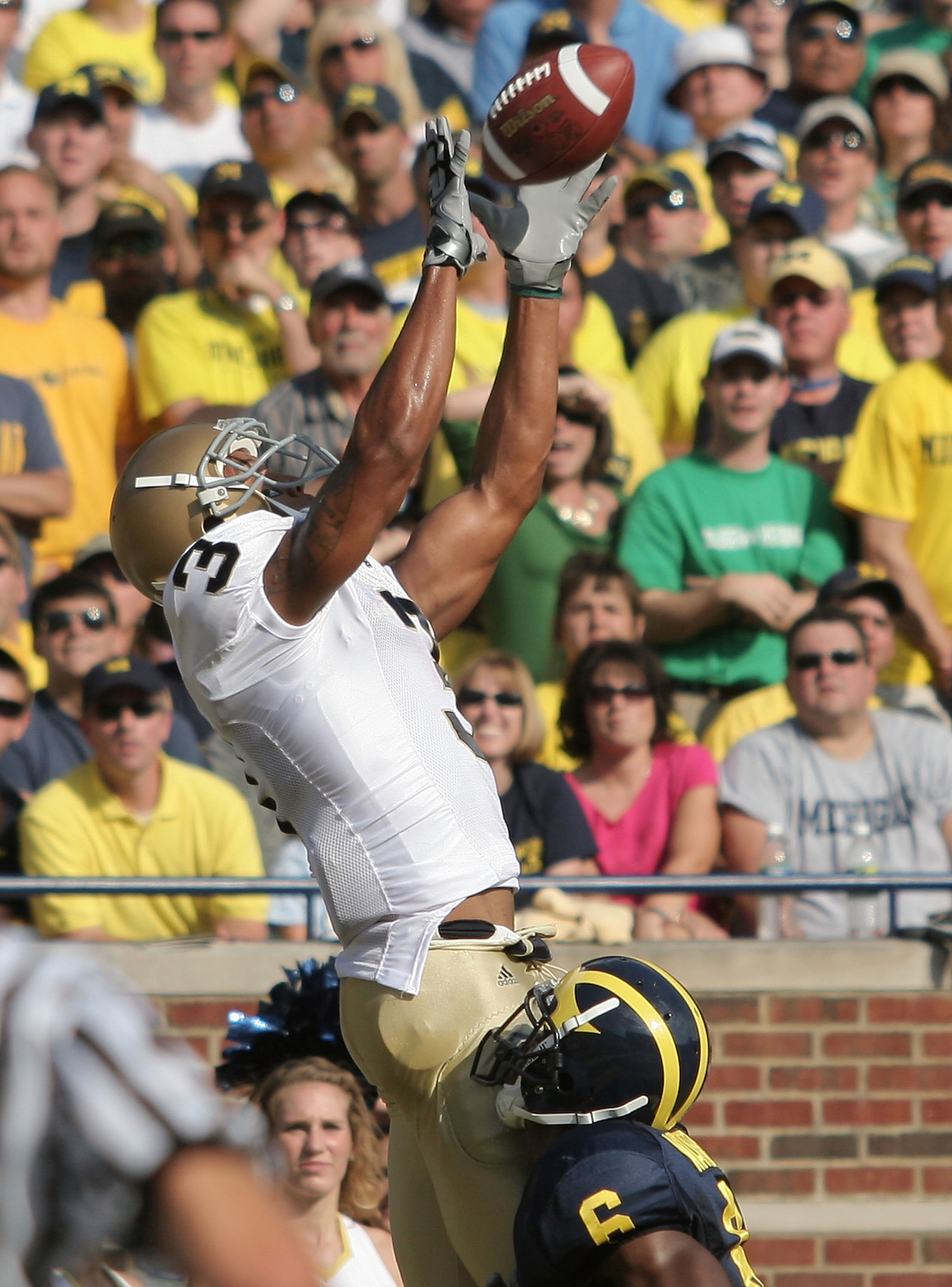 Michael Floyd coming up big in the Big House