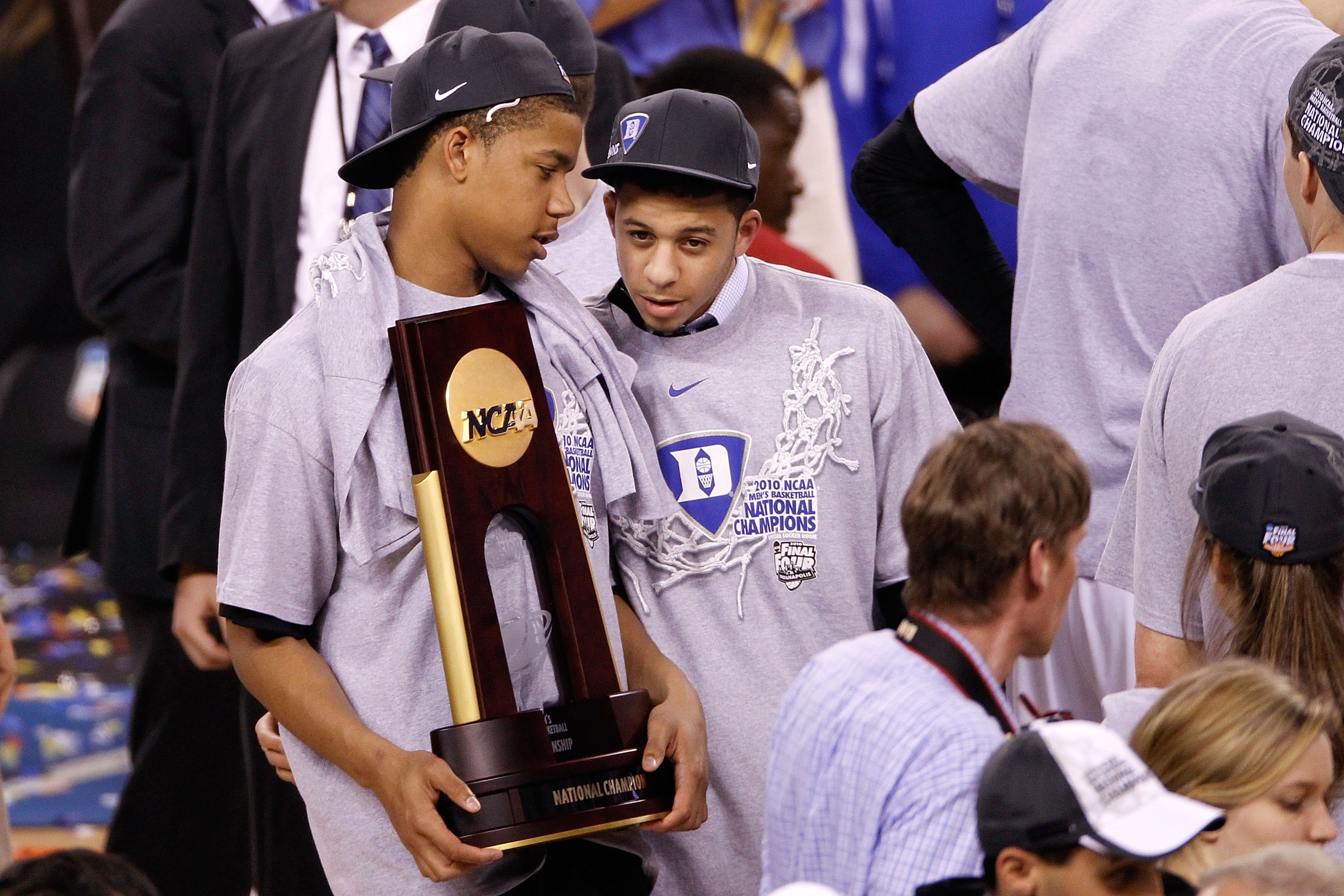 Duke youngsters Andre Dawkins and Seth Curry look to bring a second title to Durham