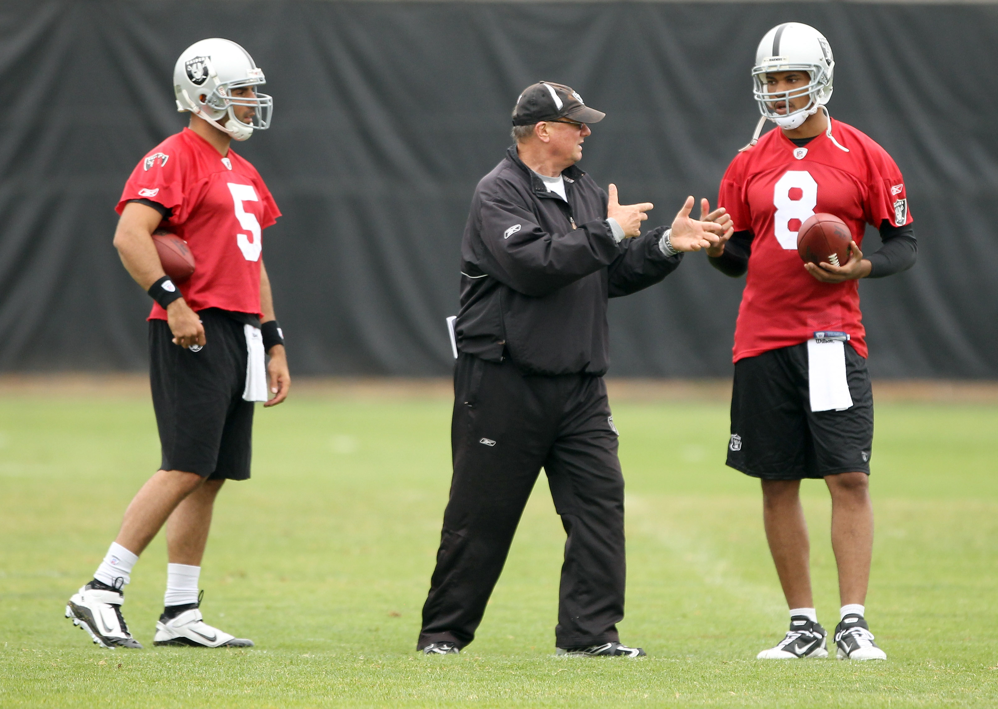 Bruce Gradkowski and Jason Campbell Actual Listen to Their Coach