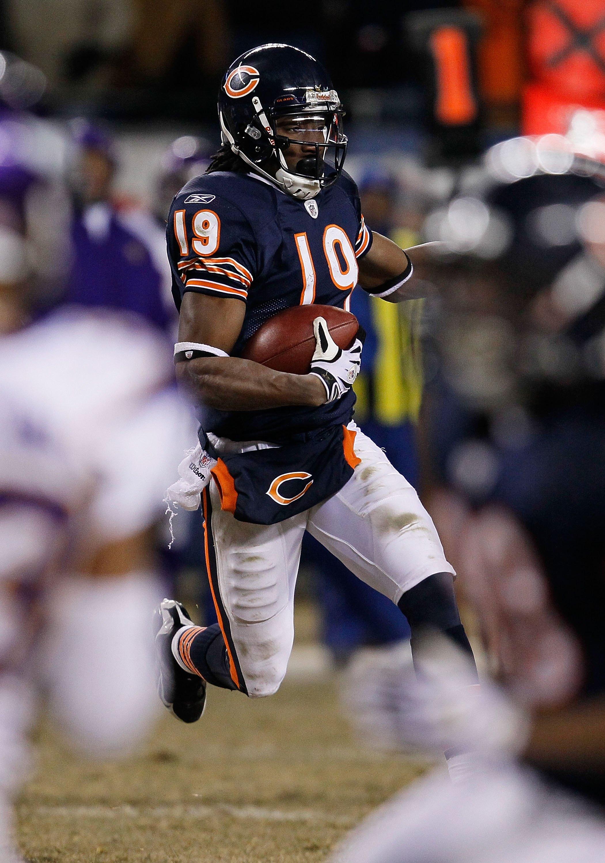 Bears wide receiver Devin Aromashodu