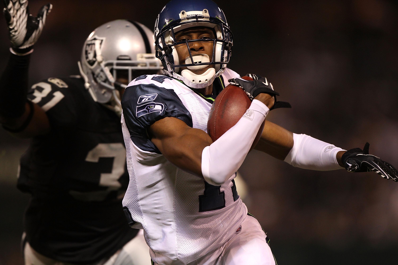 Seattle wide receiver Deon Butler