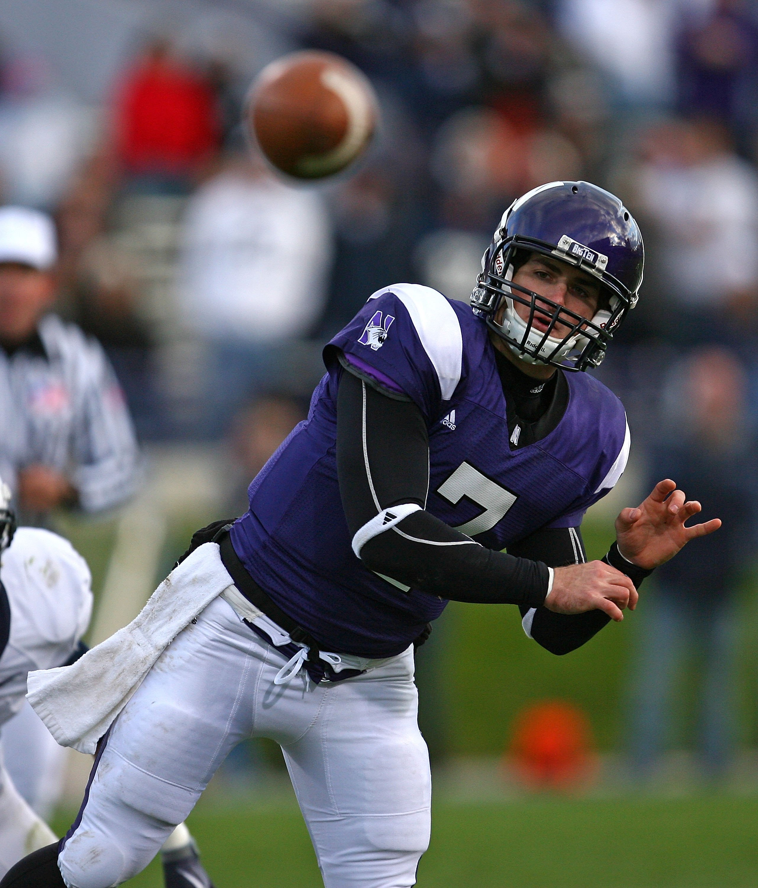 Dan Persa was nearly perfect for the Wildcats