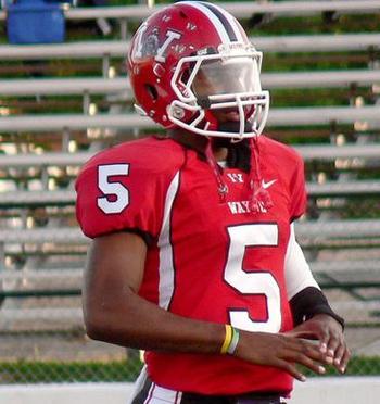 High school Football Recruit Braxton Miller