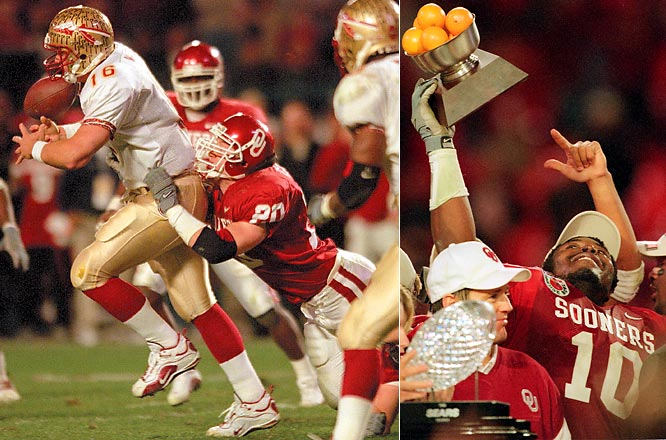 Florida State has not seen Oklahoma since a 13-2 loss in the 2002 National Championship