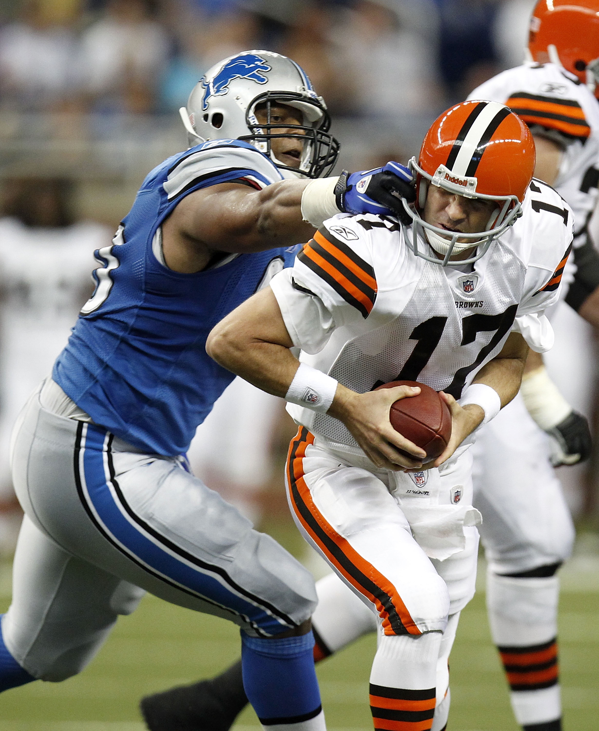Delhomme's luck doesn't look much better with the Browns
