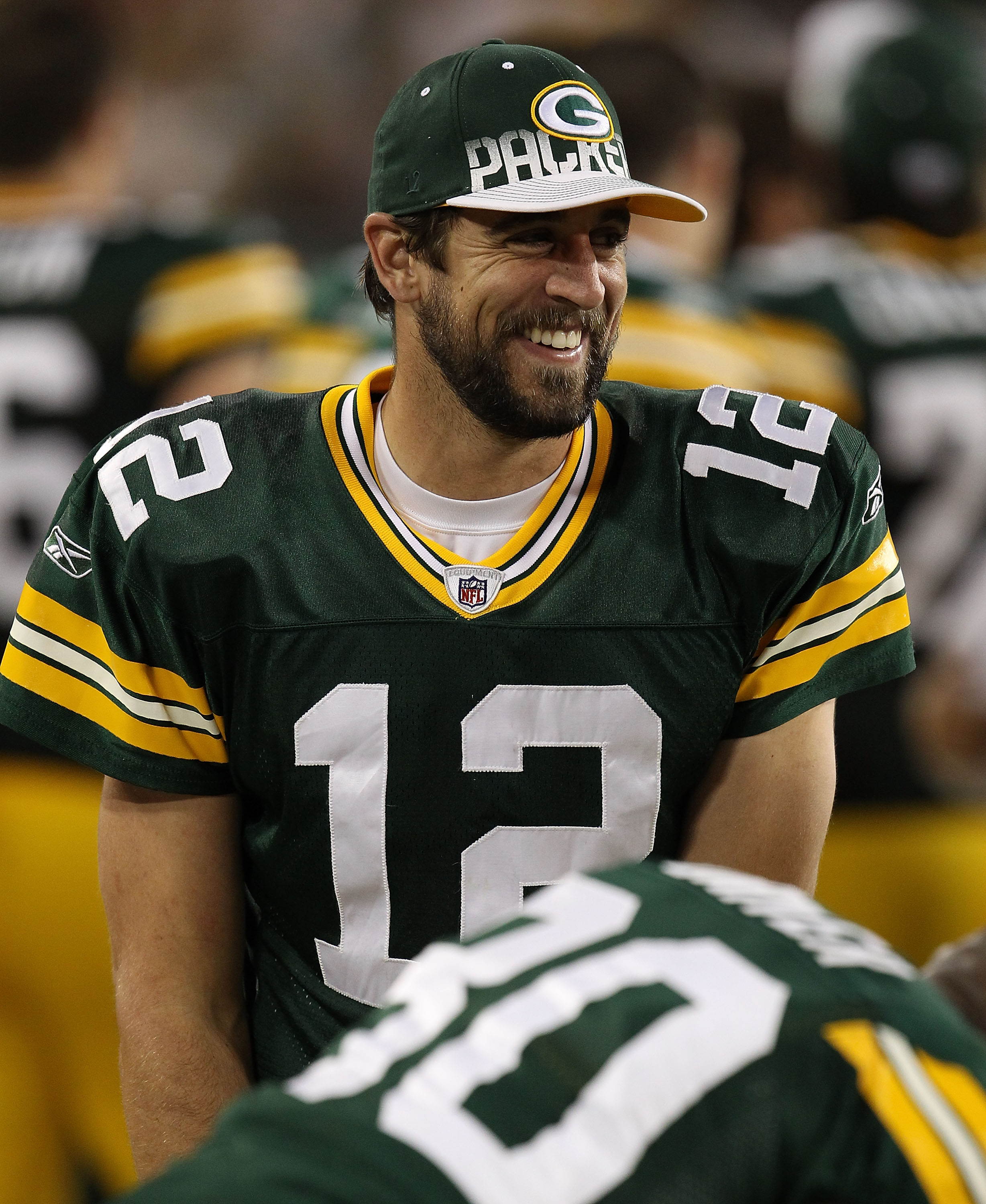 Will Aaron Rodgers be left smiling the end of the season?