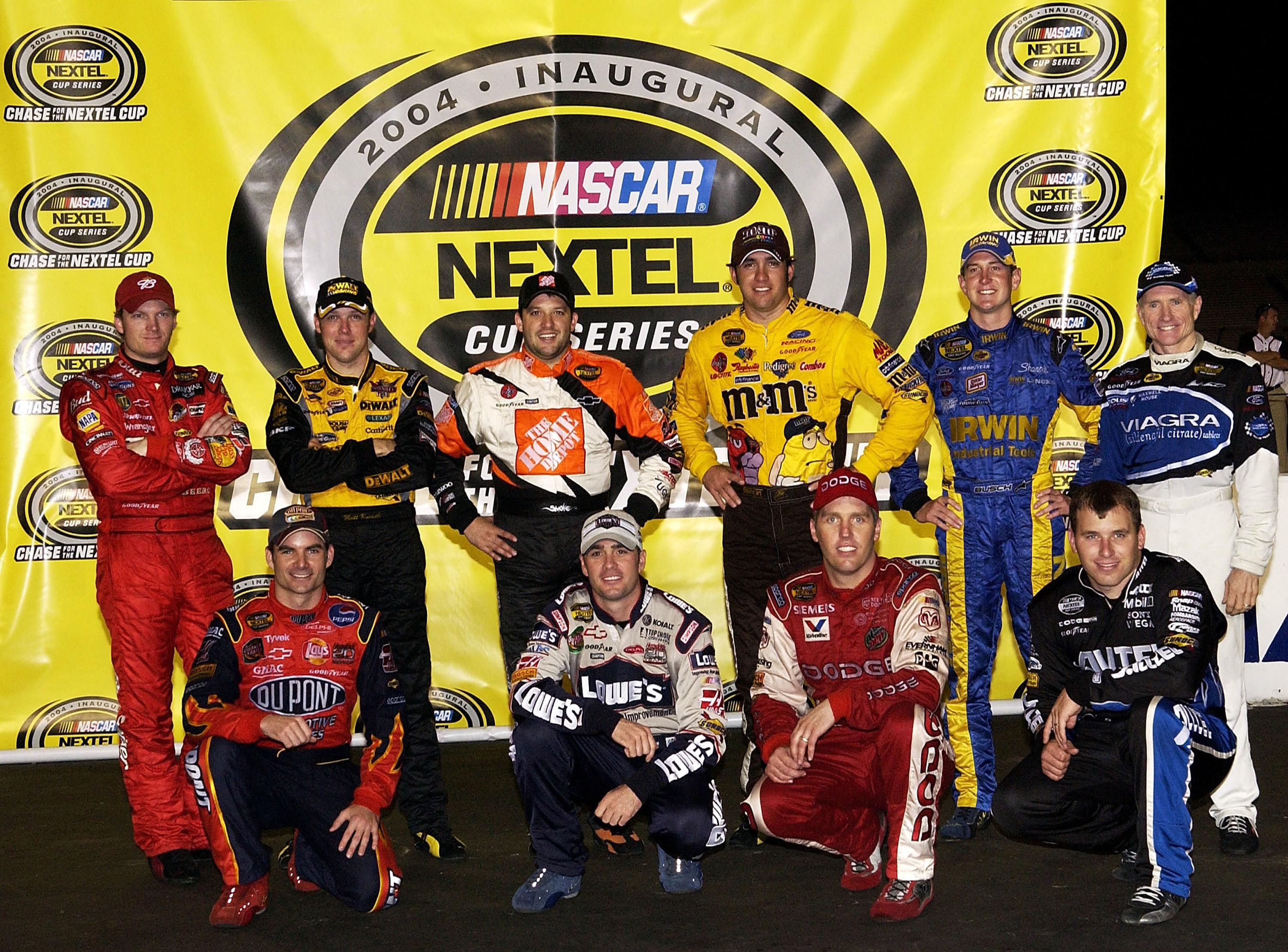 2004 Chase For The Cup Field