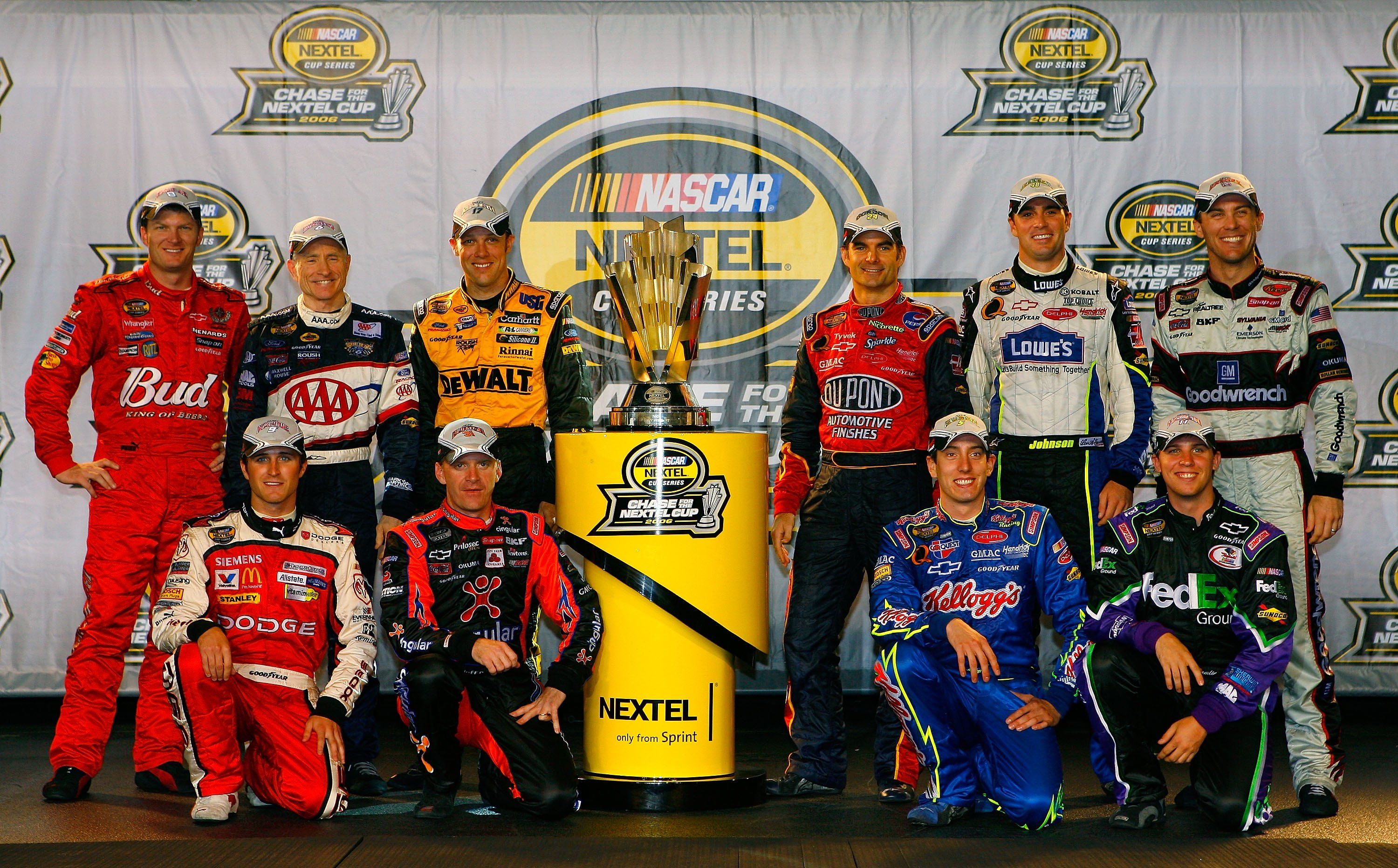 2006 Chase For The Cup Field