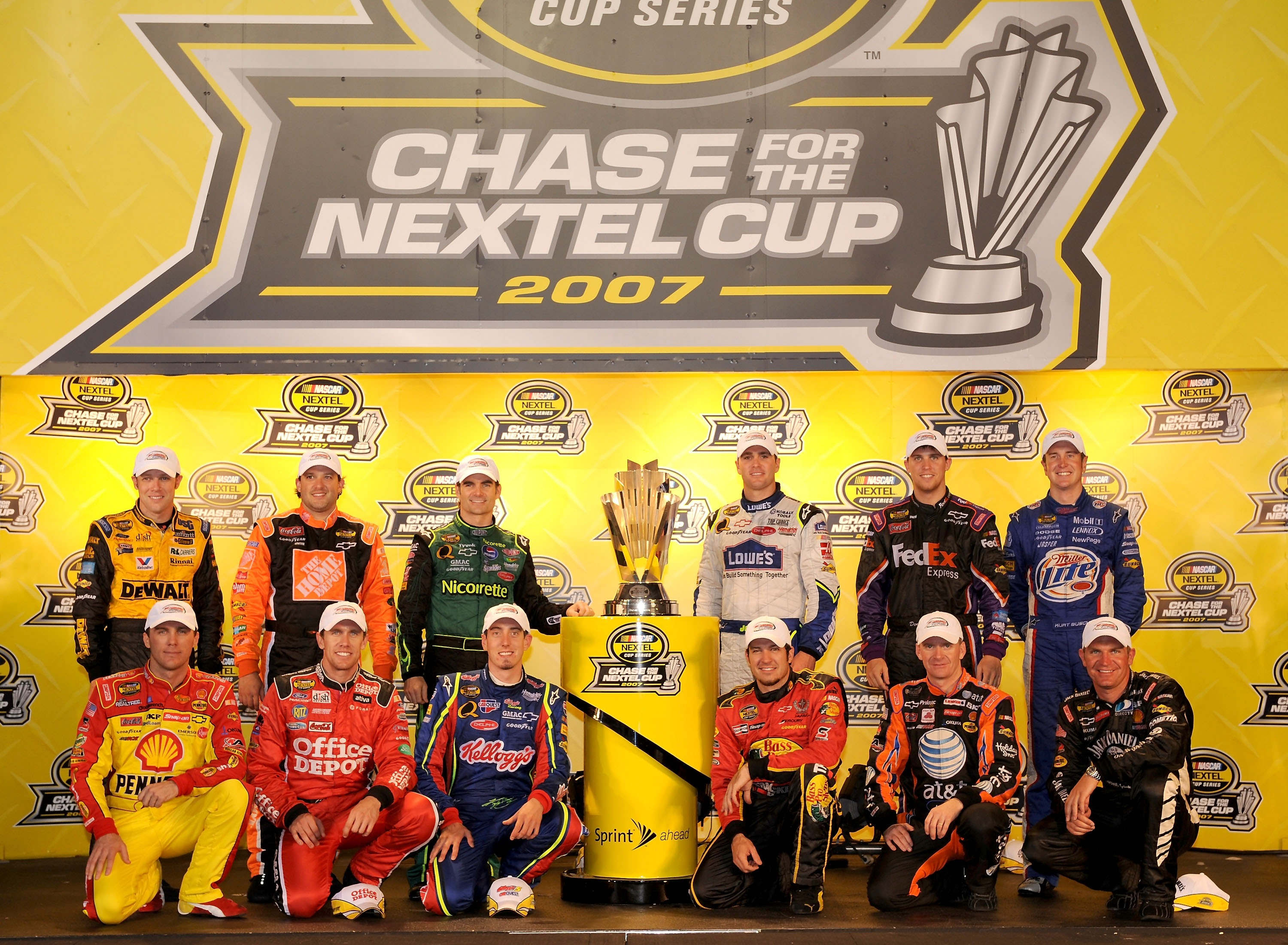 2007 CHase For the cup field