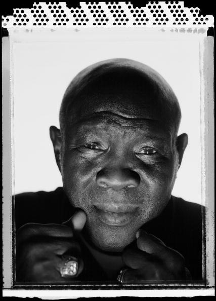 NEW YORK - MAY 16:  Boxer, Emile Griffith, former three time world Welterweight Champion and two time Middleweight Champion poses for a portrait at The Waterfront Crabhouse on May 16, 2005  in Long Island City, New York.  Griffith fought from 1958-1977 an