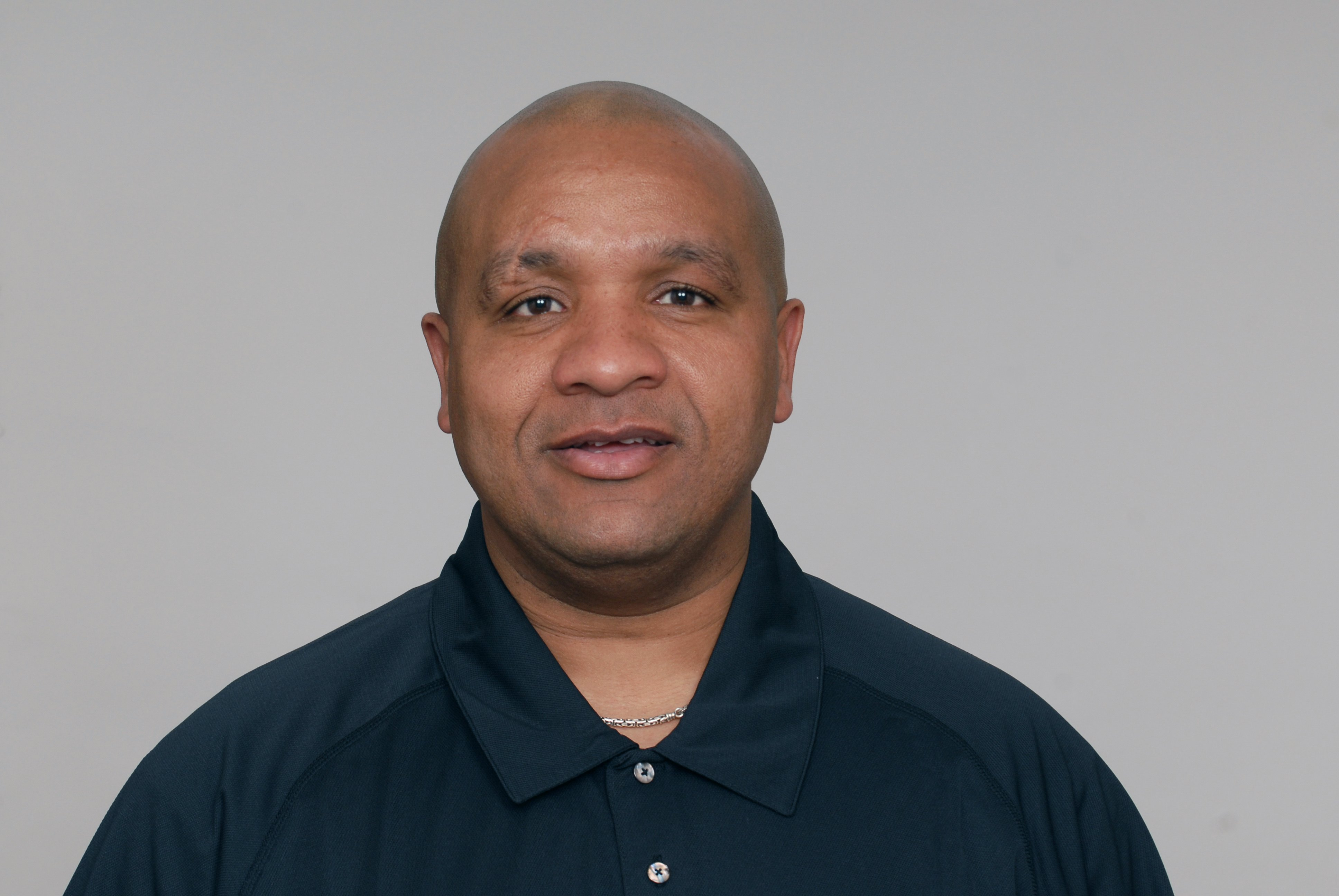 BALTIMORE - 2009:  Hue Jackson of the Baltimore Ravens poses for his 2009 NFL headshot at photo day in Baltimore, Maryland. (Photo by NFL Photos)
