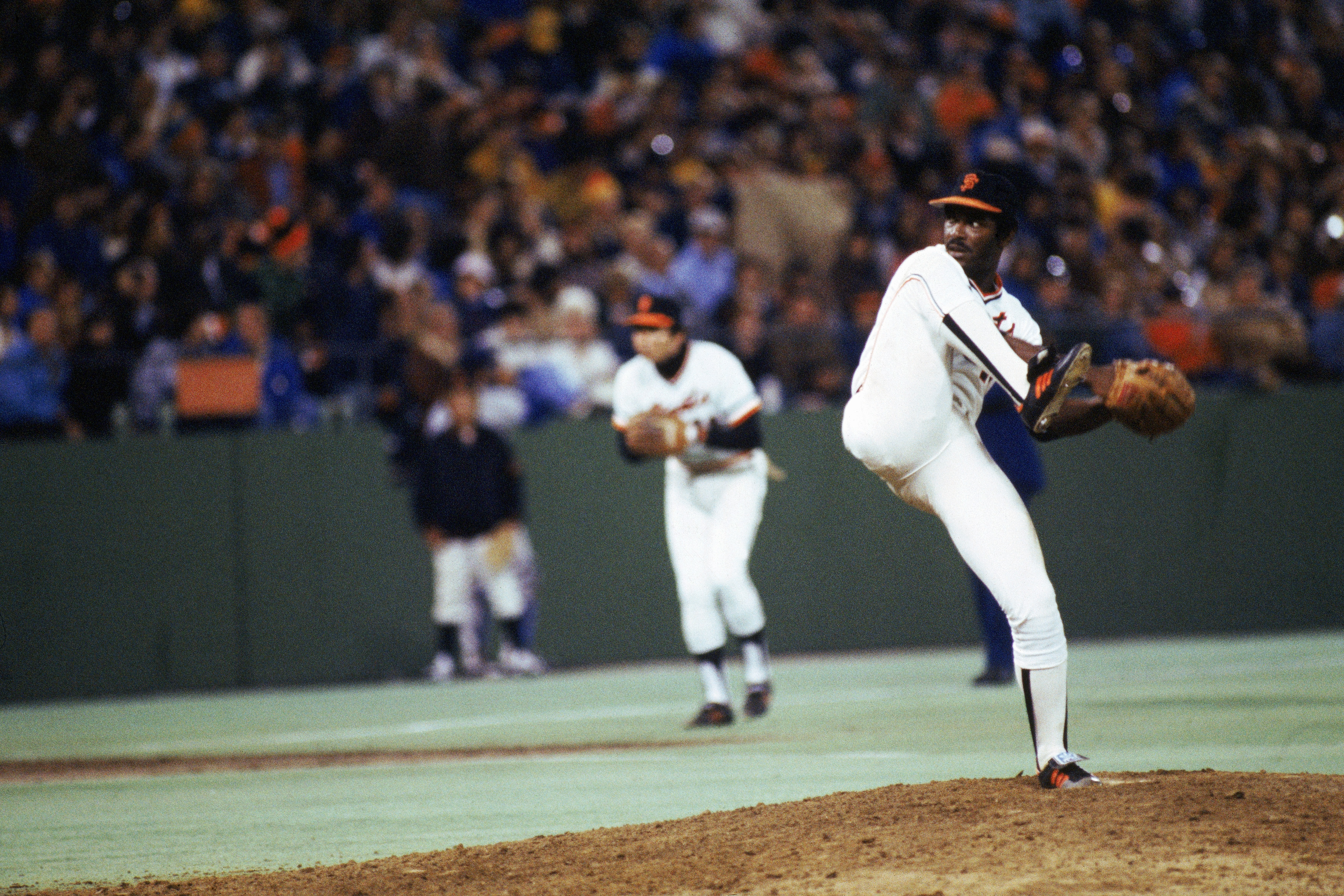 One of the best lefties in history: Vida Blue.