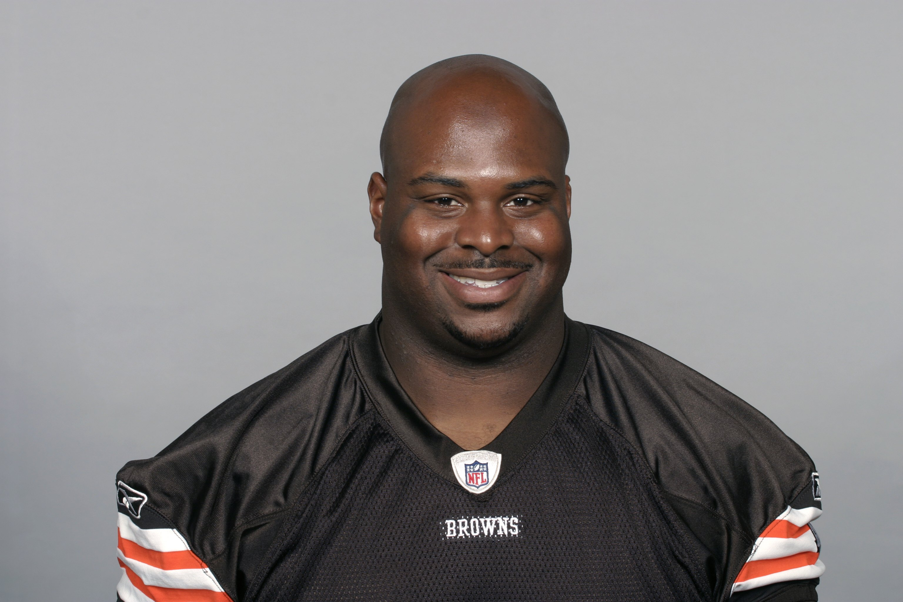 CLEVELAND - 2009:  Floyd Womack of the Cleveland Browns poses for his 2009 NFL headshot at photo day in Cleveland, Ohio. (Photo by NFL Photos)