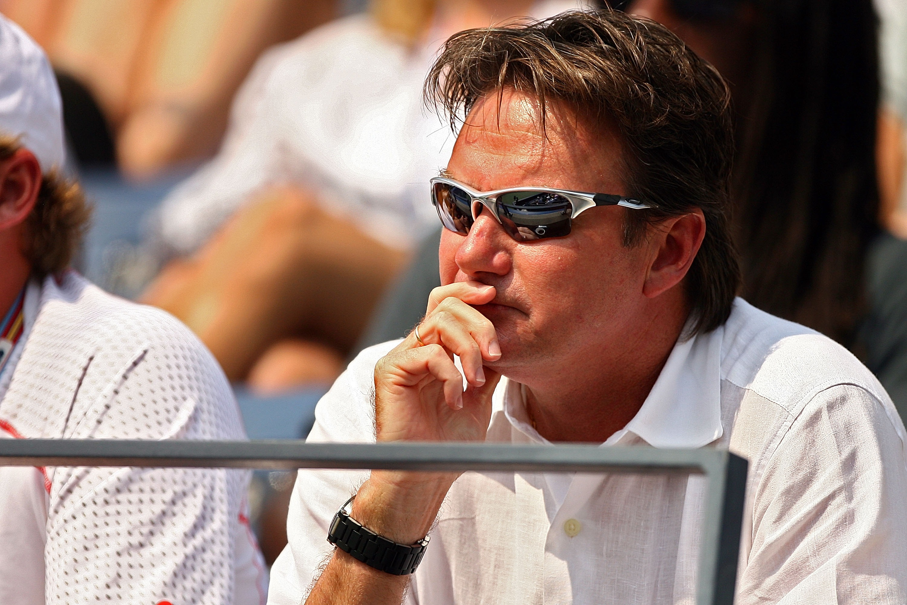 Jimmy Connors at the U.S. Open 2007