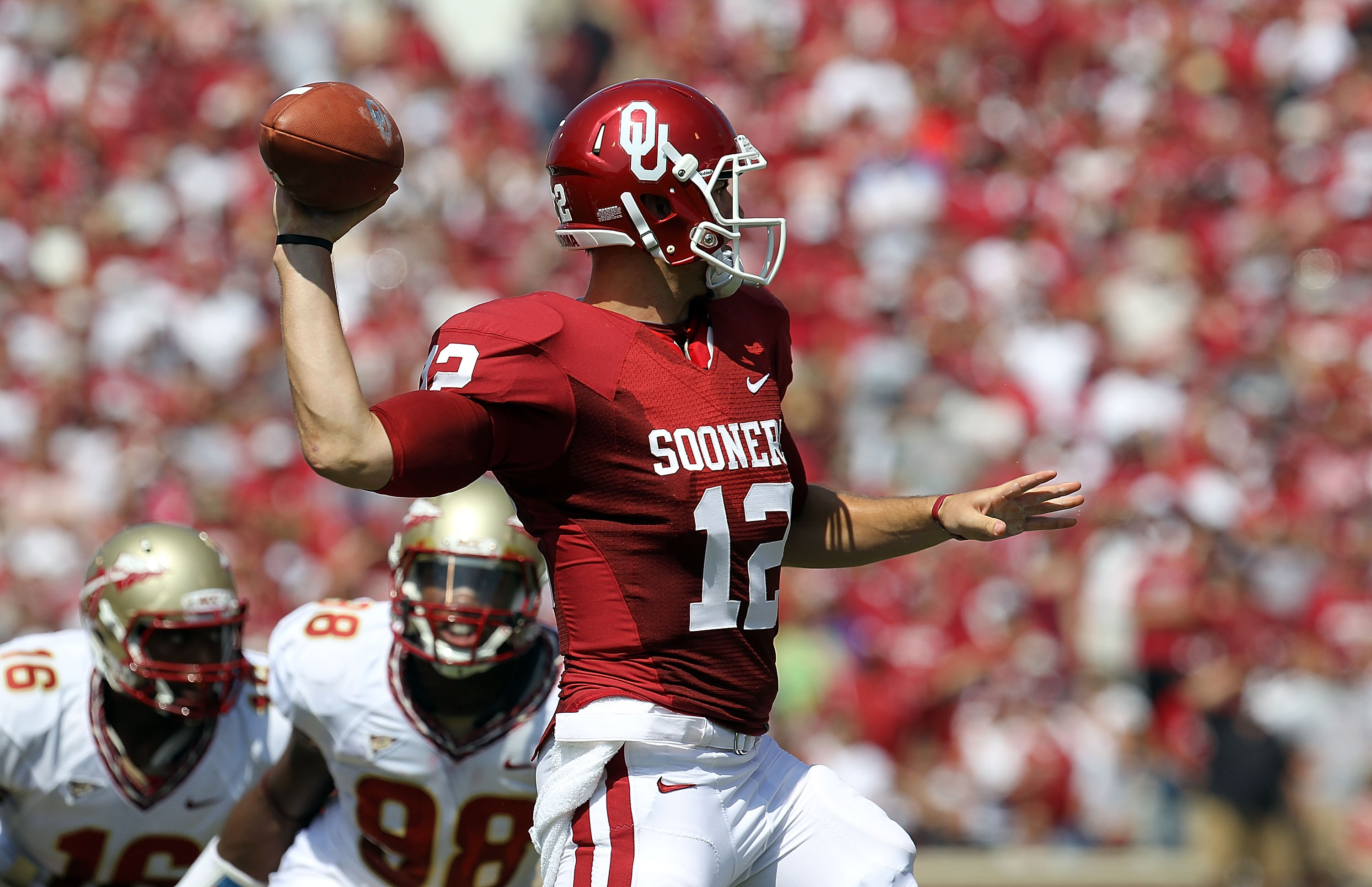 Florida State registered only one sack on Landry Jones