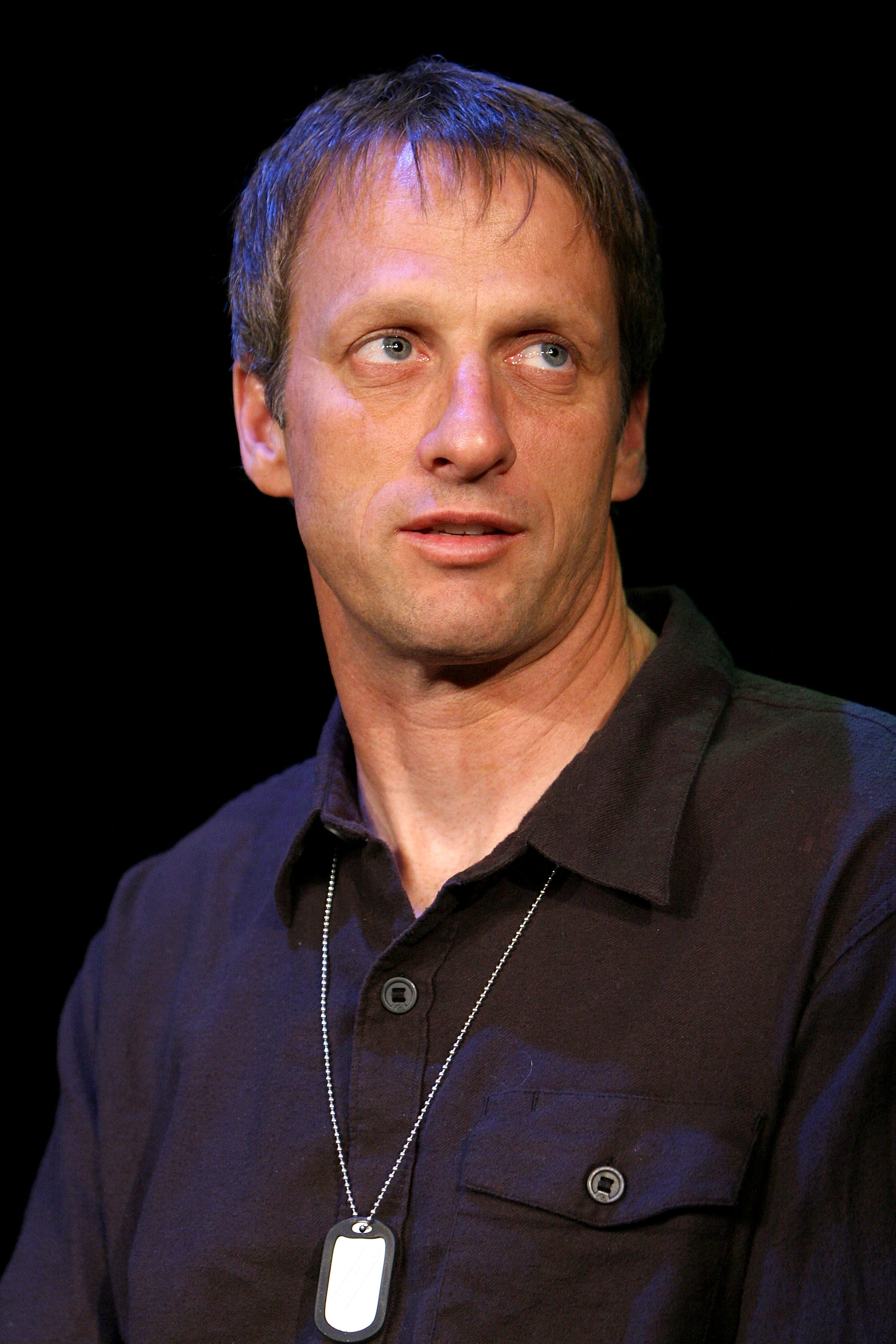 NEW YORK - APRIL 25:  Skateboarding pro Tony Hawk attends a press conference for Athletes for Hope at Manhattan Center Studios on April 25, 2007 in New York City.  (Photo by Scott Wintrow/Getty Images)