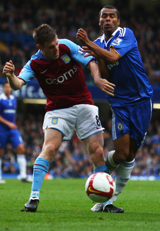 Milner in his Villa days against Cole