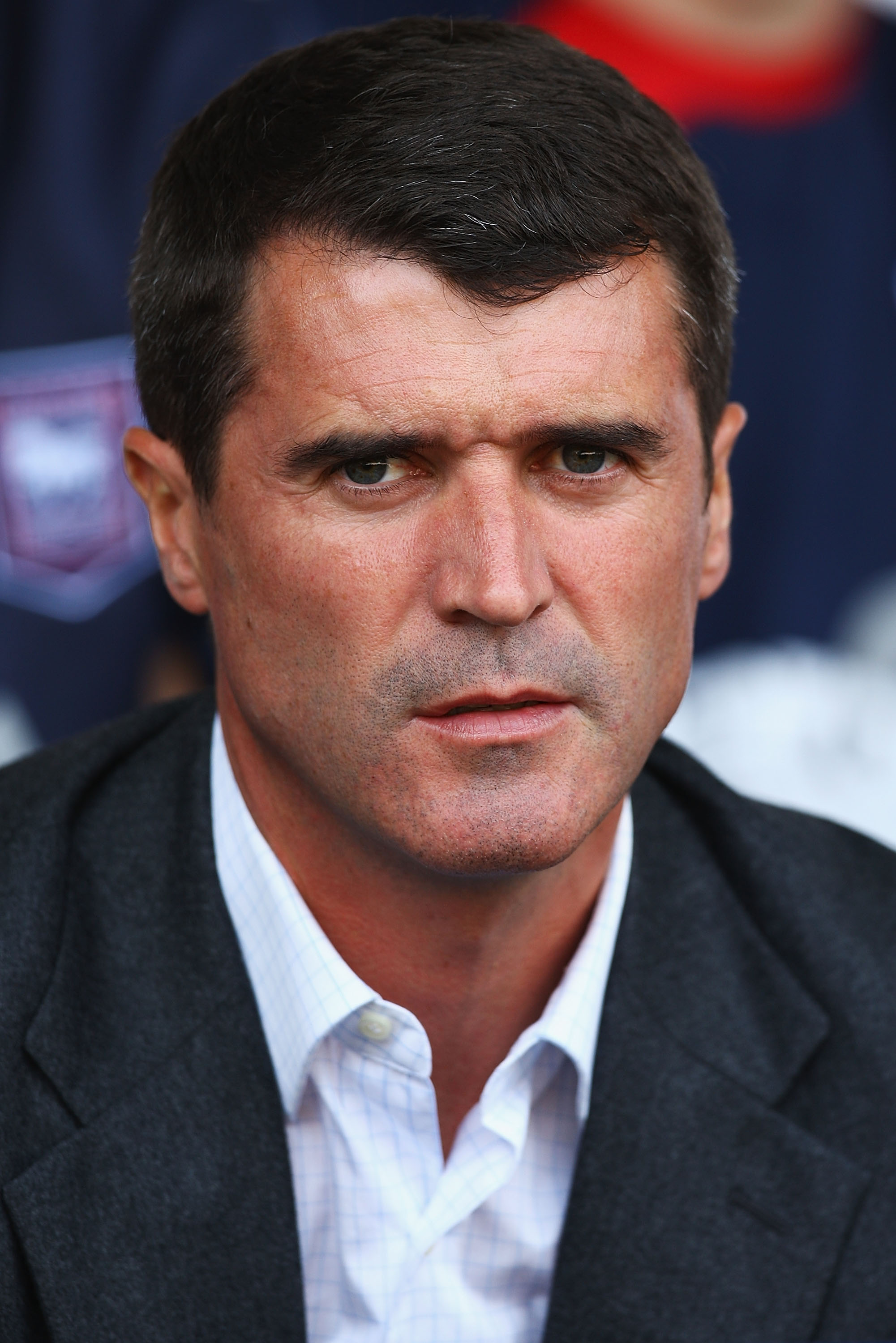 WEST BROMWICH, ENGLAND - AUGUST 22:  Roy Keane, manager of Ipswich Town looks on during the Coca-Cola Championship match between West Bromwich Albion and Ipswich Town at The Hawthorns on August 22, 2009 in West Bromwich, England.  (Photo by Matthew Lewis/