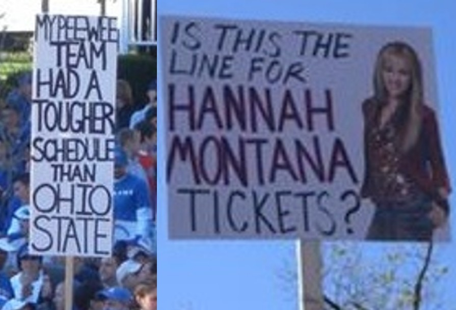 Oregon State Boise State 10 Signs Wed Like To See On Espns