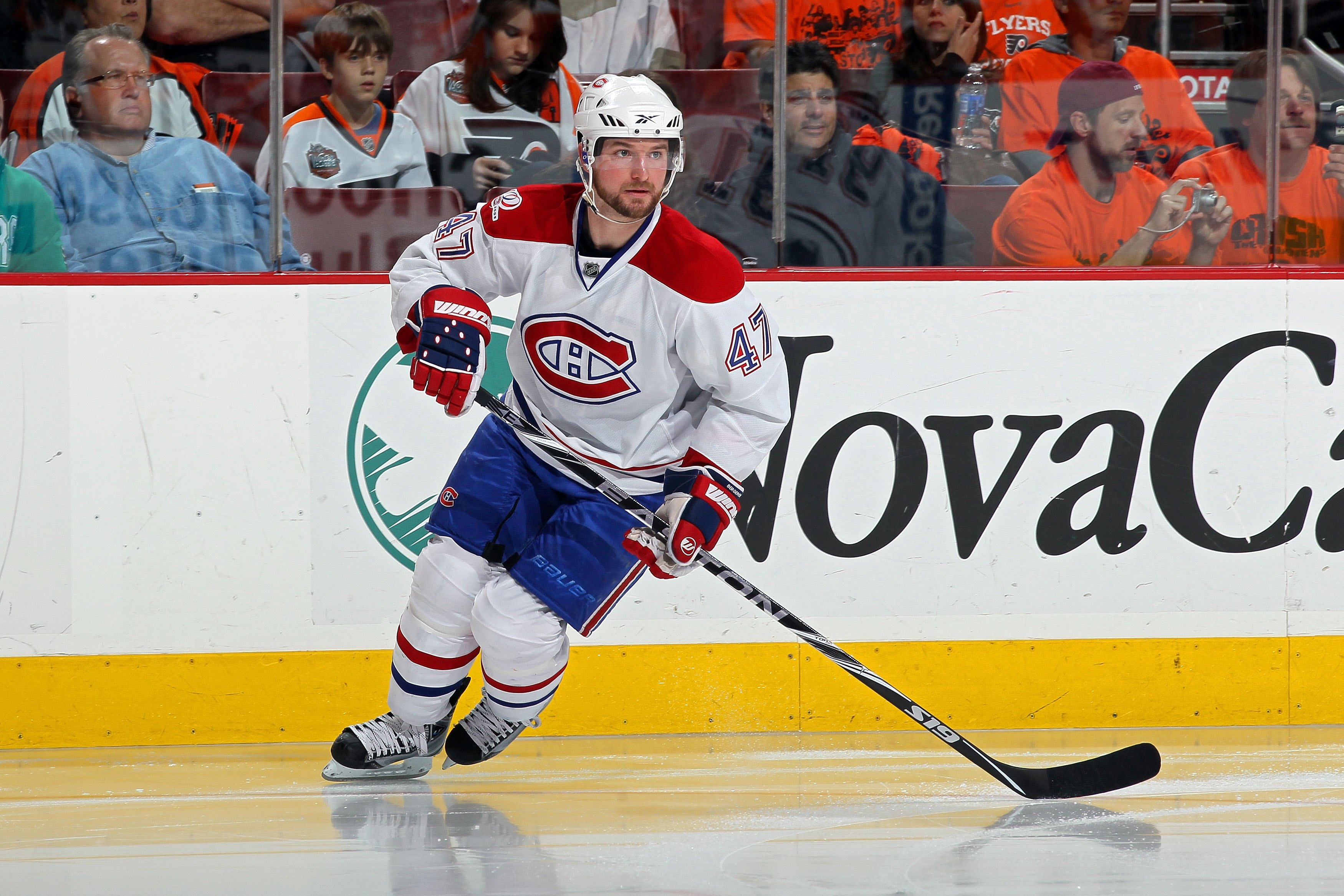 Marc-Andre Bergeron, an affordable solution to any teams with power play issues.