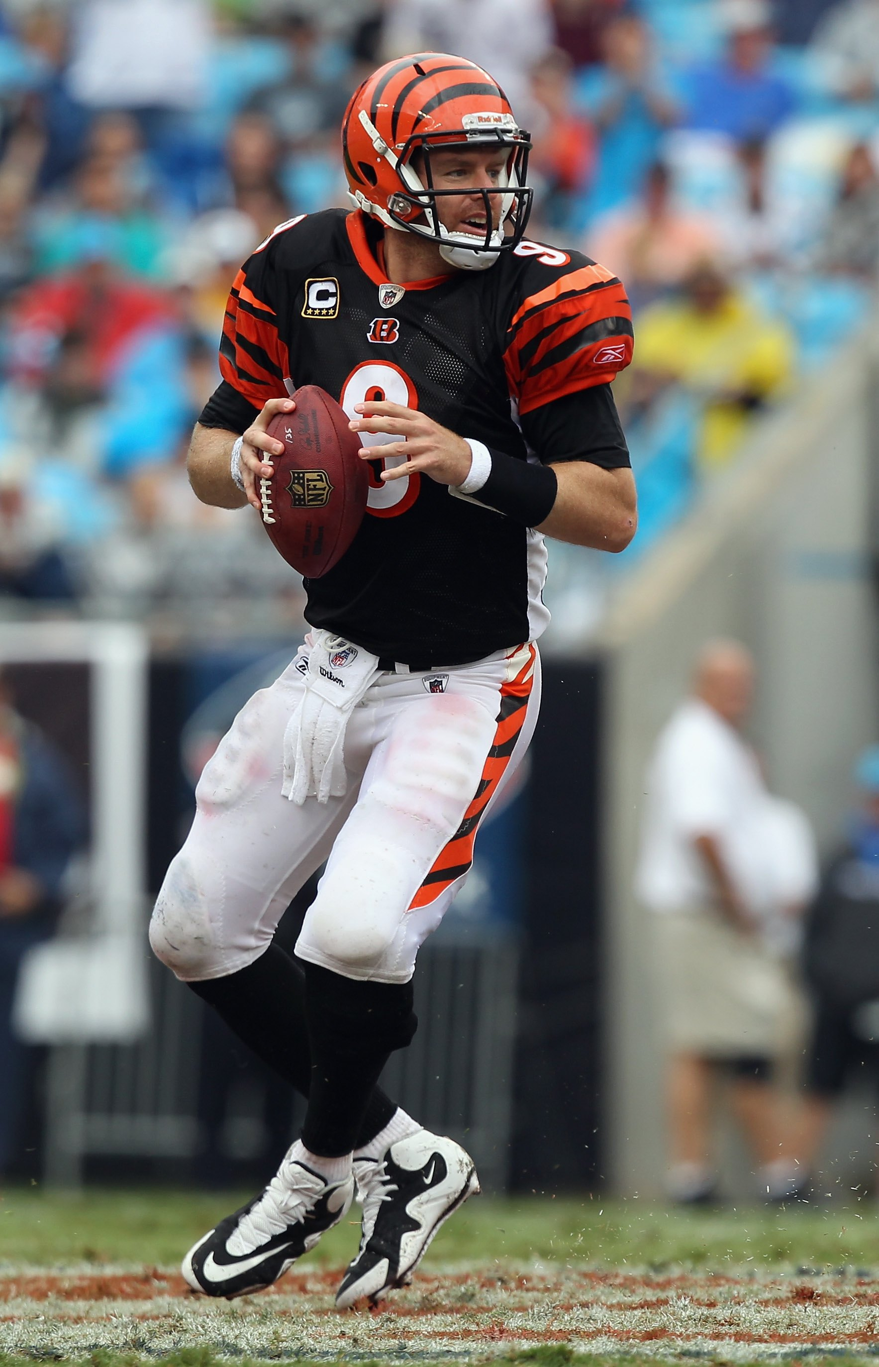 palmer carson bengals browns fans things vs cincy better play lecka streeter getty