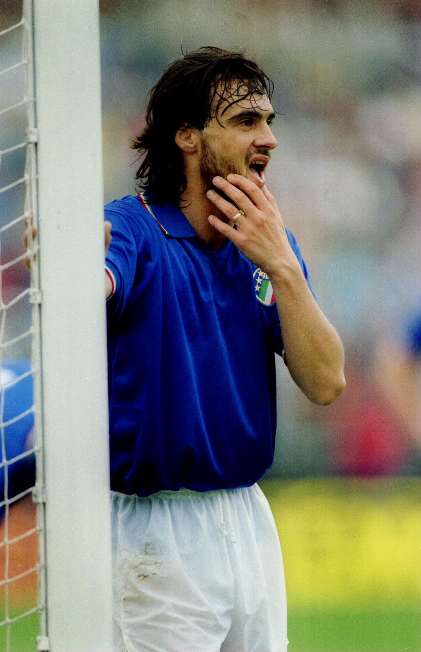 Giannini was a star for both Italy and Roma.